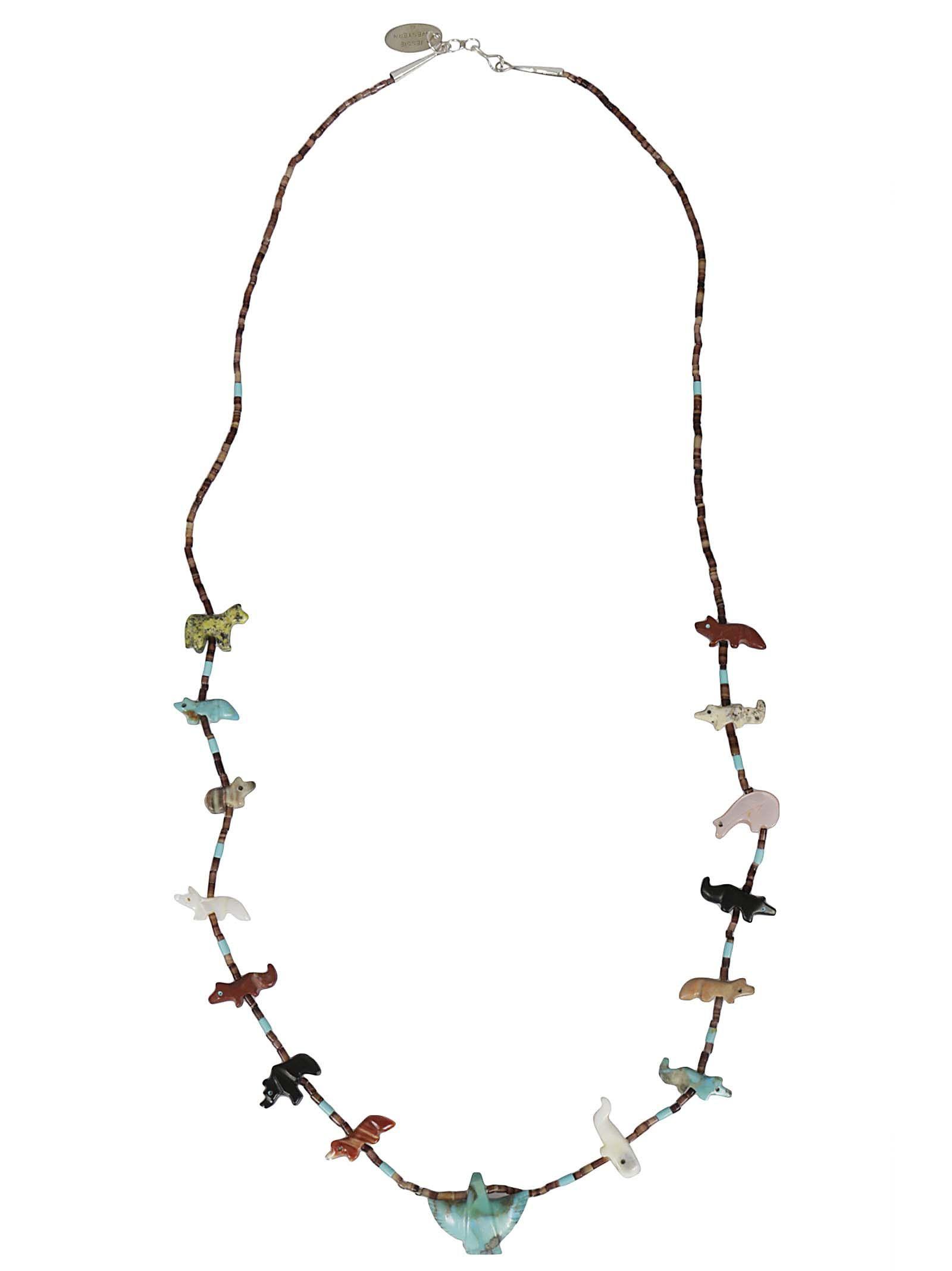 Jessie Western Multi Animal Necklace