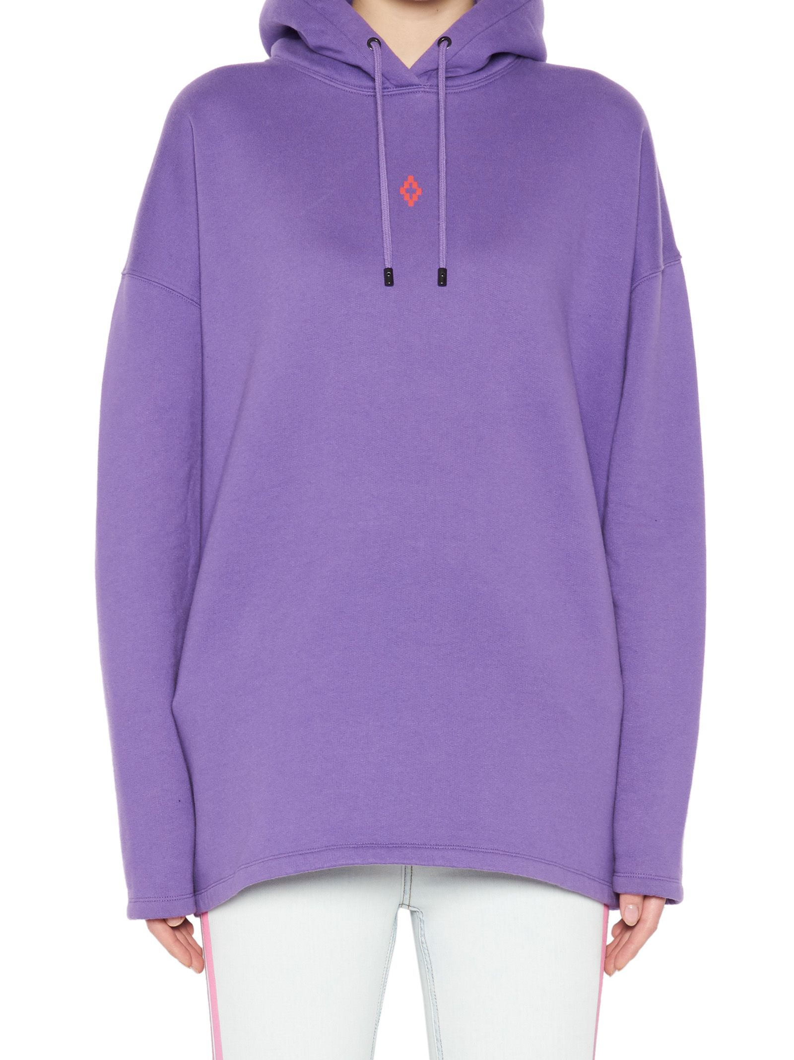 County Milan Hoodie In Of 'skull' Purple Marcelo Burlon qw67F1w