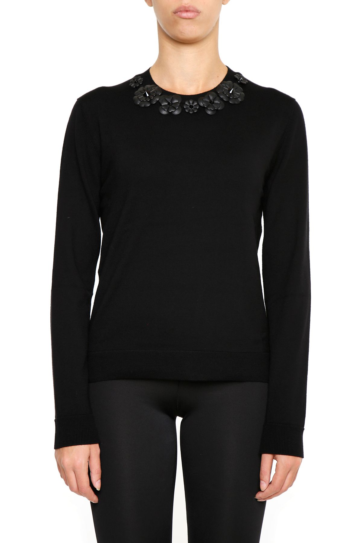 Pullover With Nappa Inserts 9661490