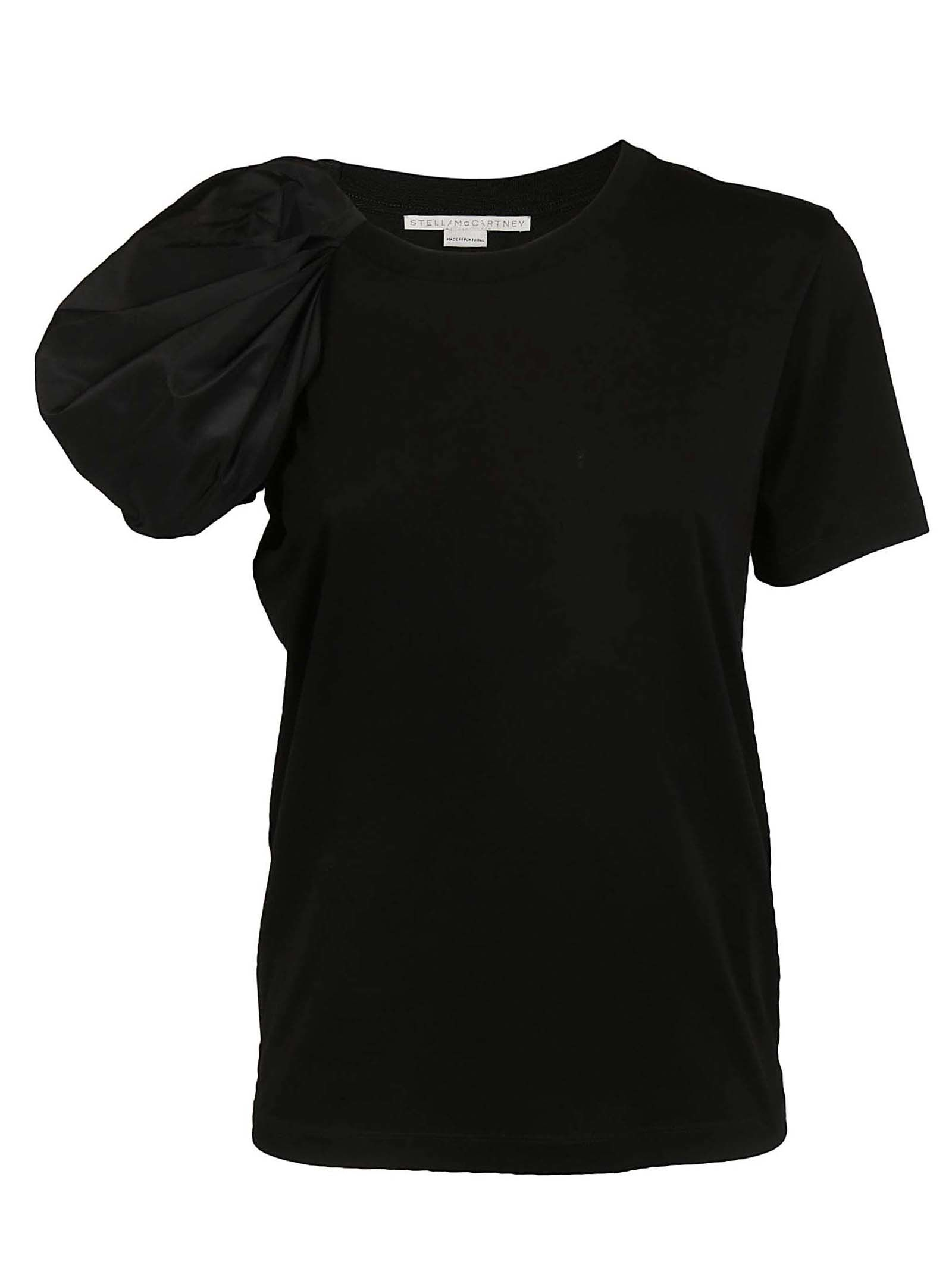 STELLA MCCARTNEY ASYMMETRIC SLEEVE T-SHIRT