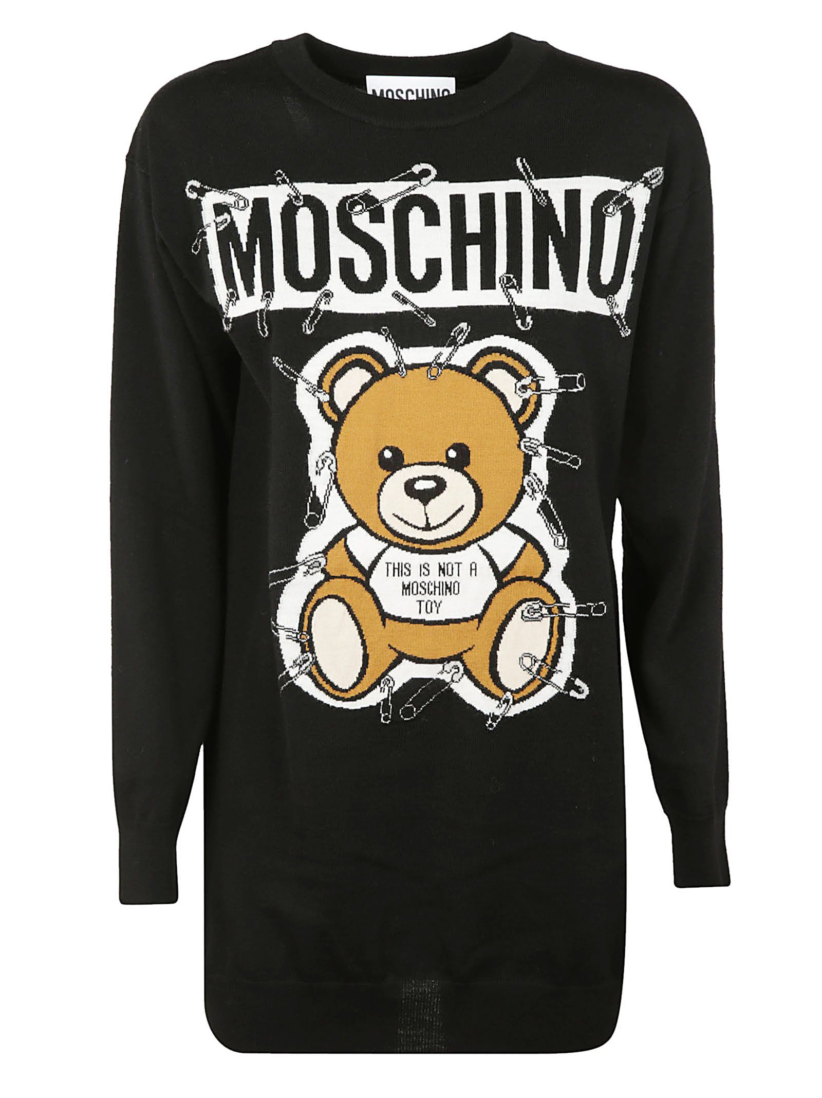 Moschino Knitted Patchwork Dress 10676622