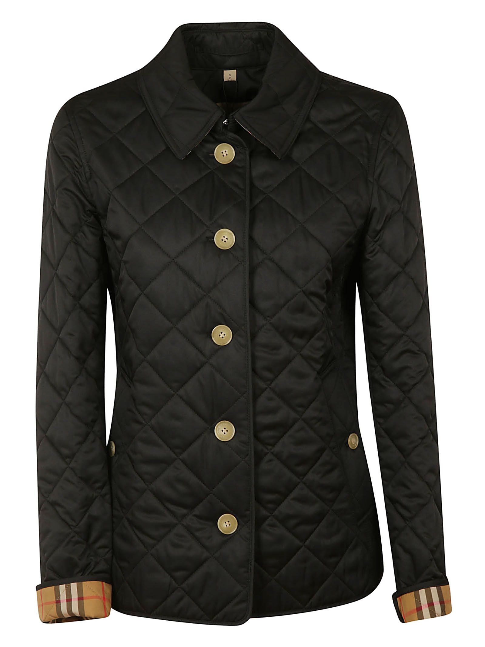Quilt And Checked Reversable Jacket