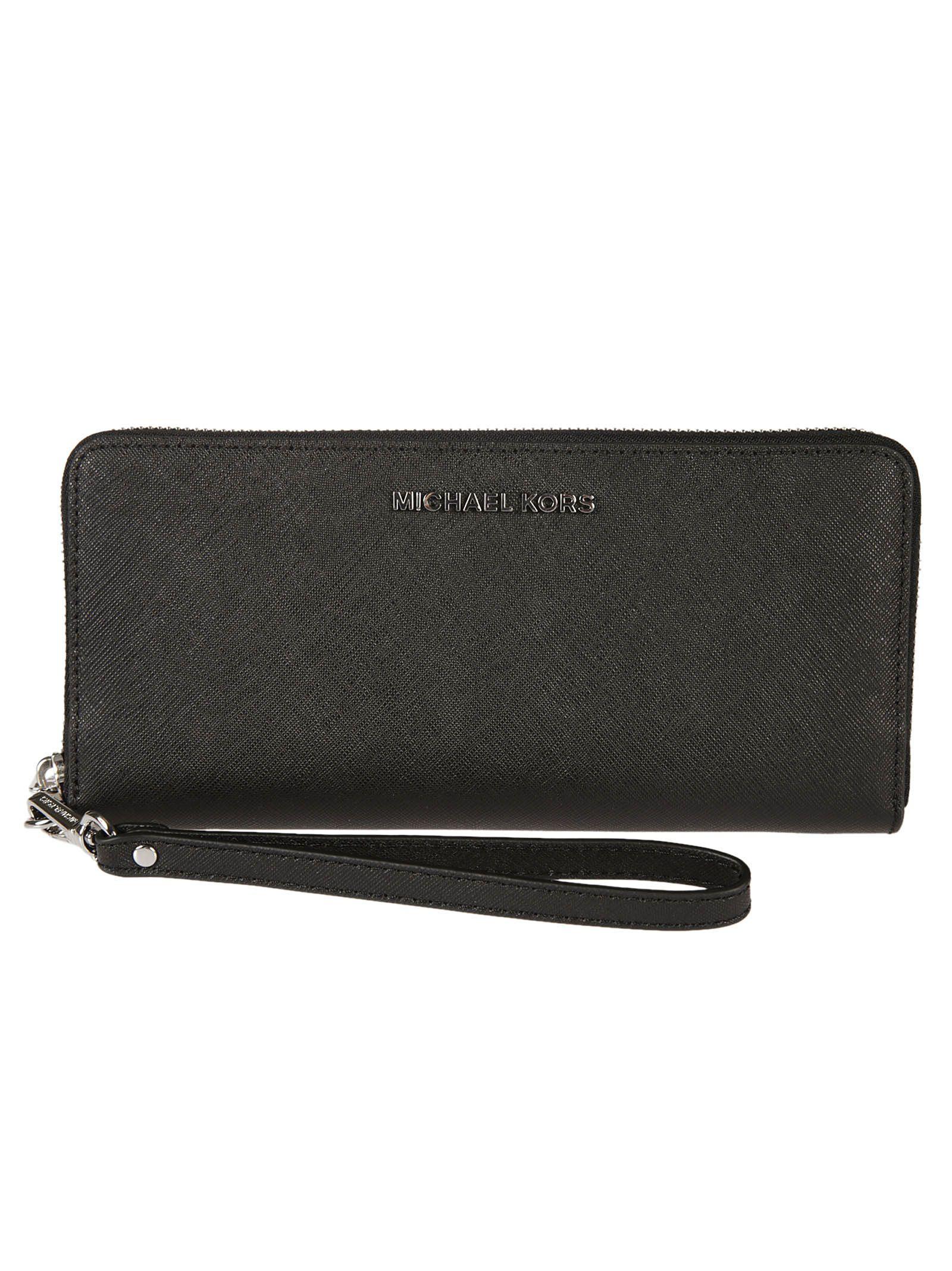 Michael Kors Michael Jet Set Travel Zip Around Wallet 9784589