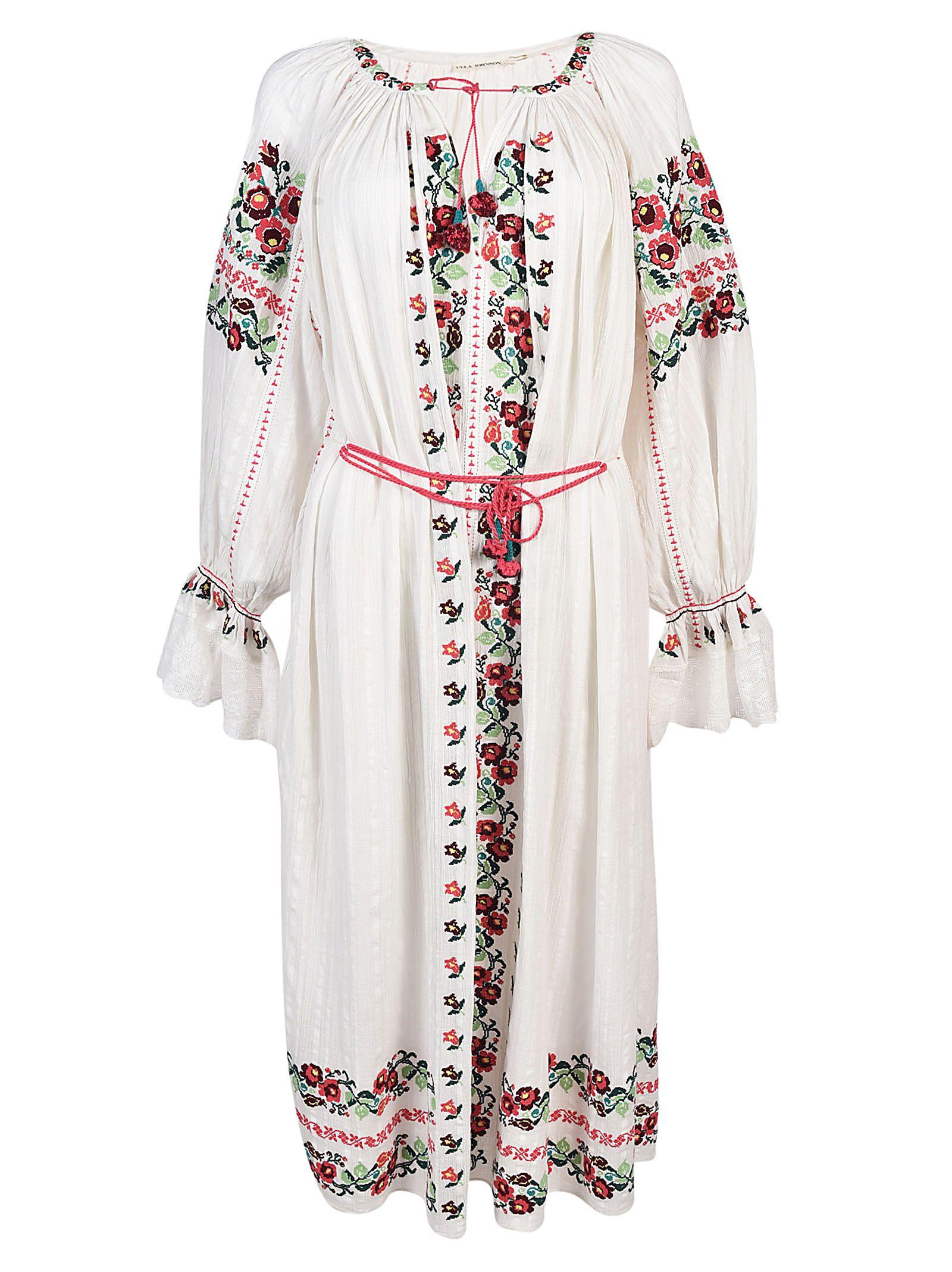 Ulla Johnson Embroidery Dress ...