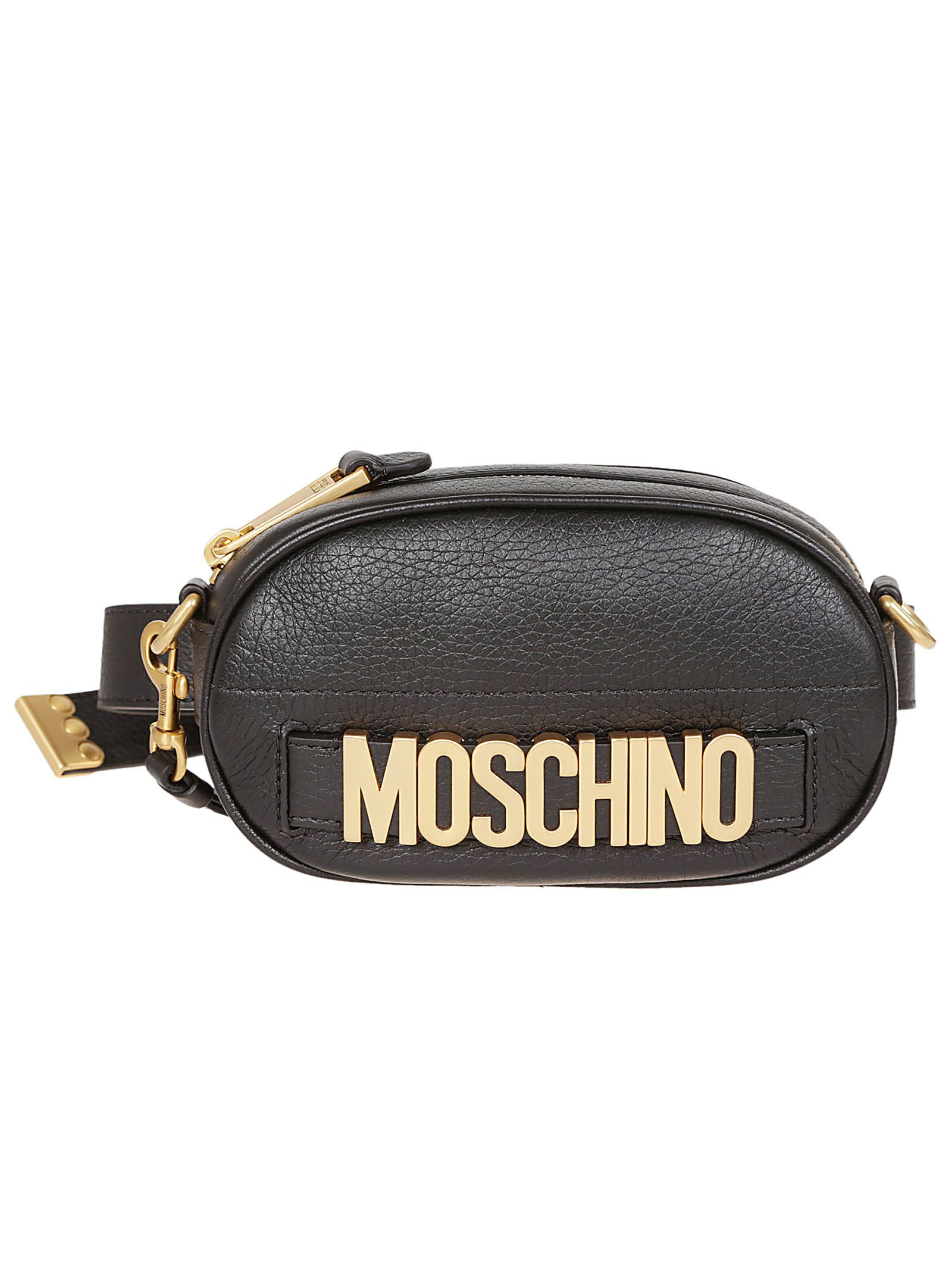 Moschino Belt Lettering Bag