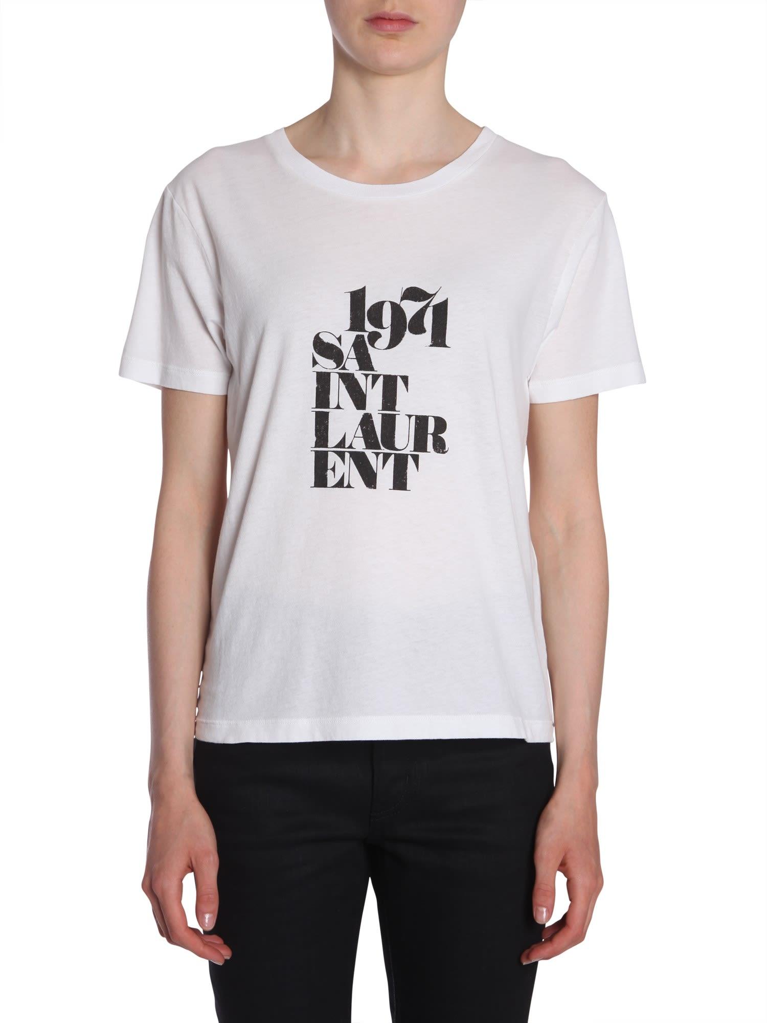 1971 T-Shirt, Bianco