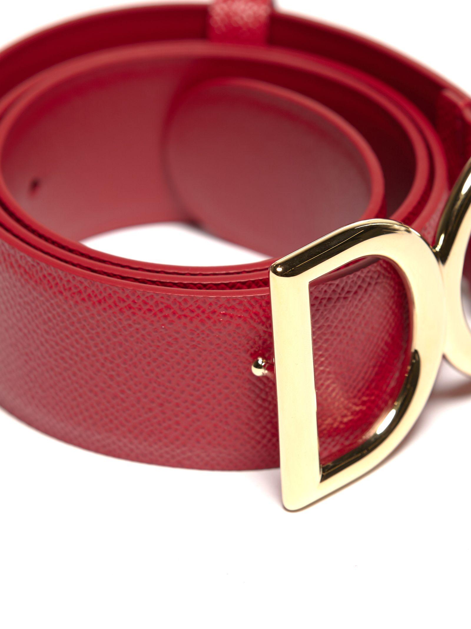 DG logo belt - Red Dolce & Gabbana vjFisX