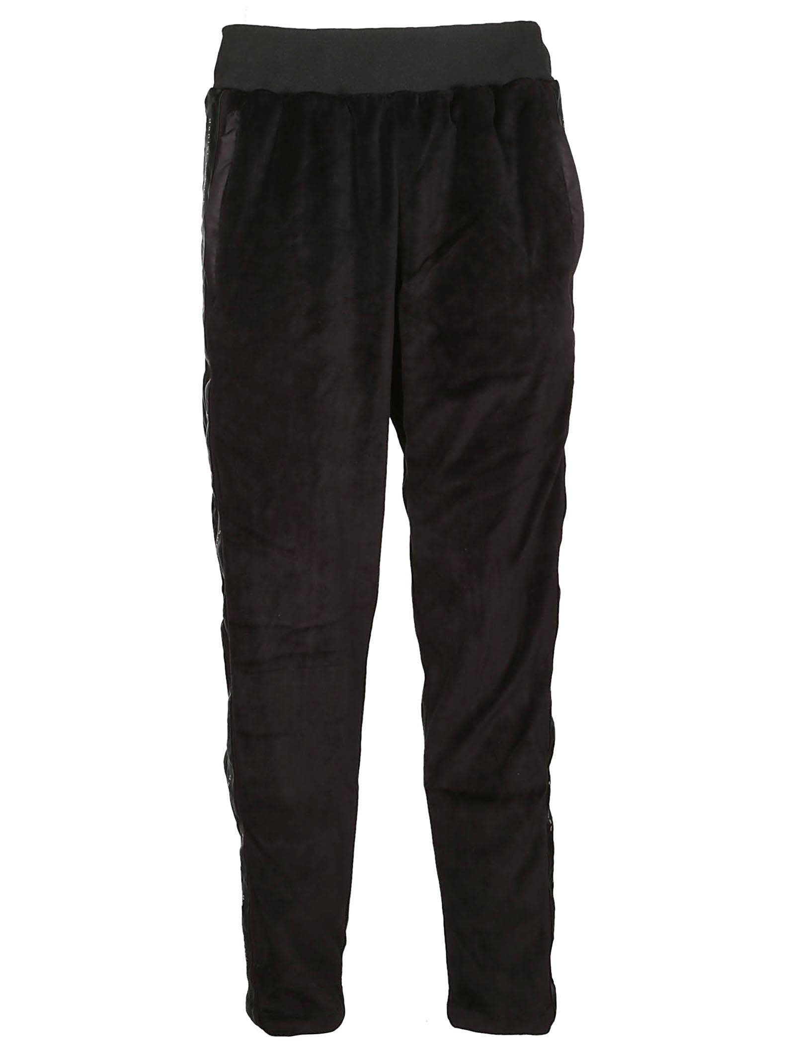 DANIEL PATRICK Elasticated Trousers in Black
