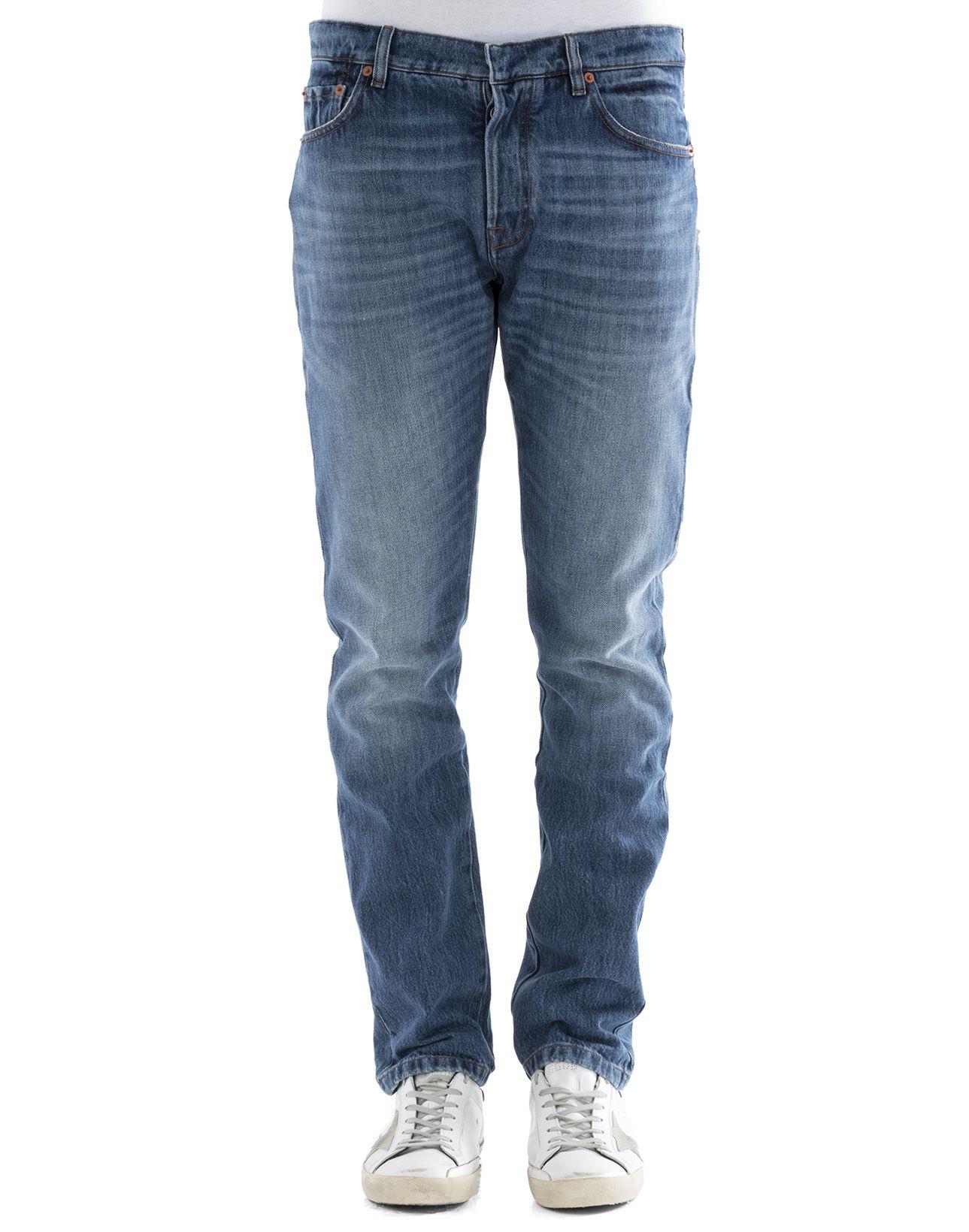 Blue Cotton Jeans 8359813