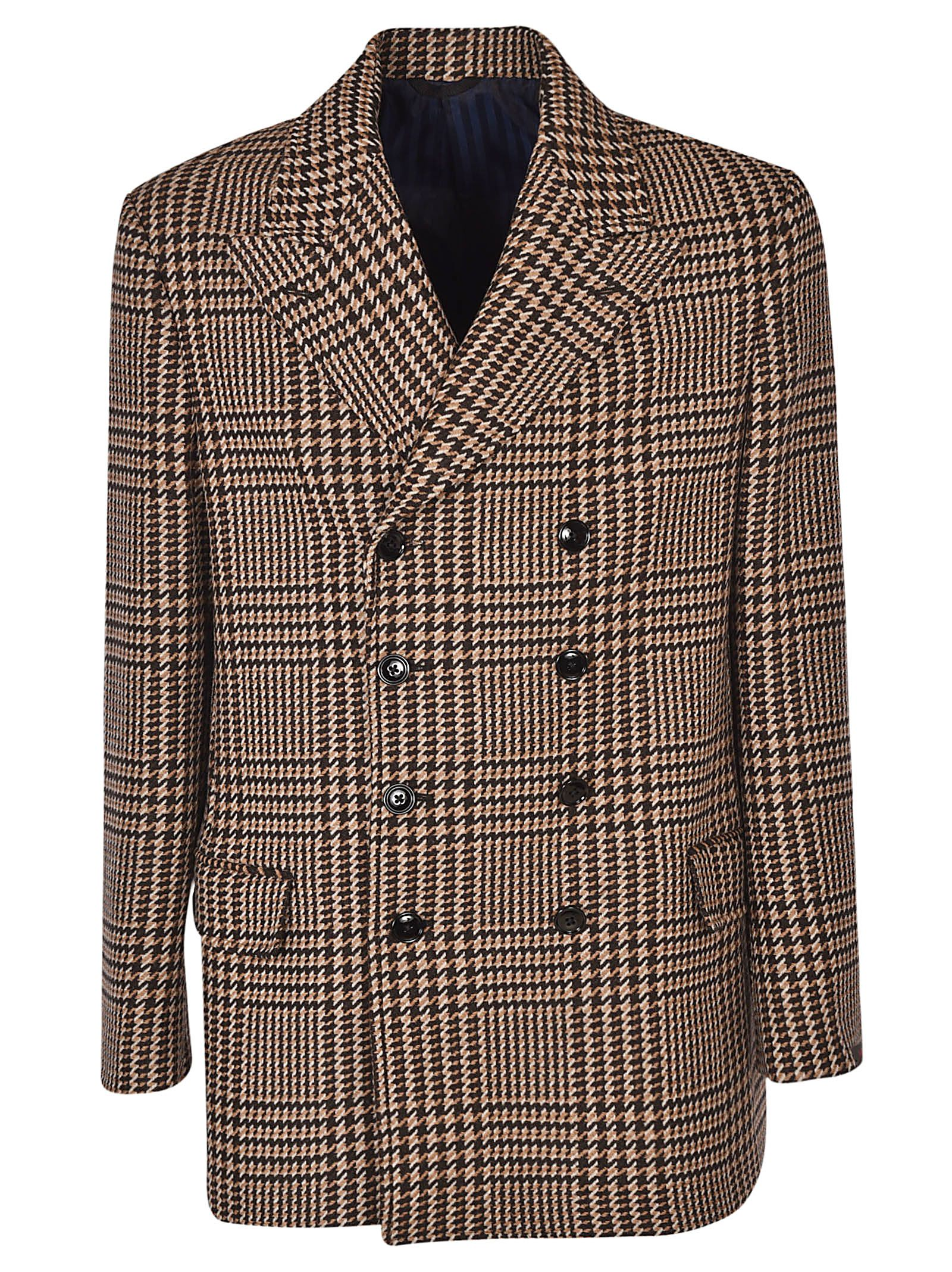 MASSIMO PIOMBO Double Breasted Coat in 12Q