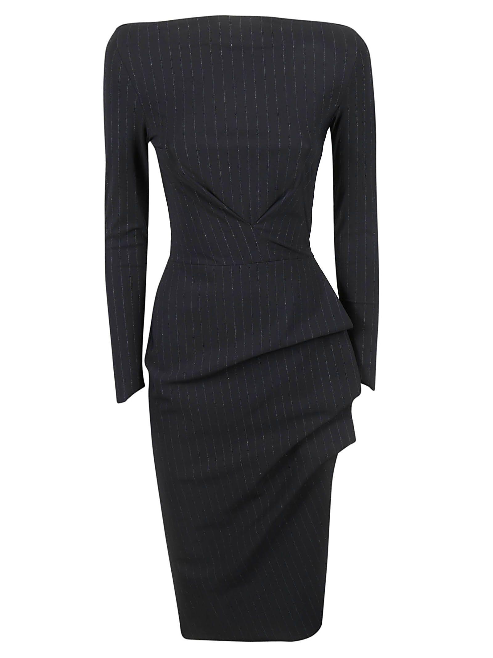 LA PETIT ROBE DI CHIARA BONI Cassandre Dress in Black