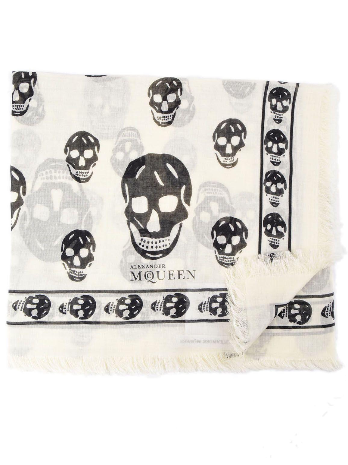 Alexander McQueen Skull Scarf 9783409