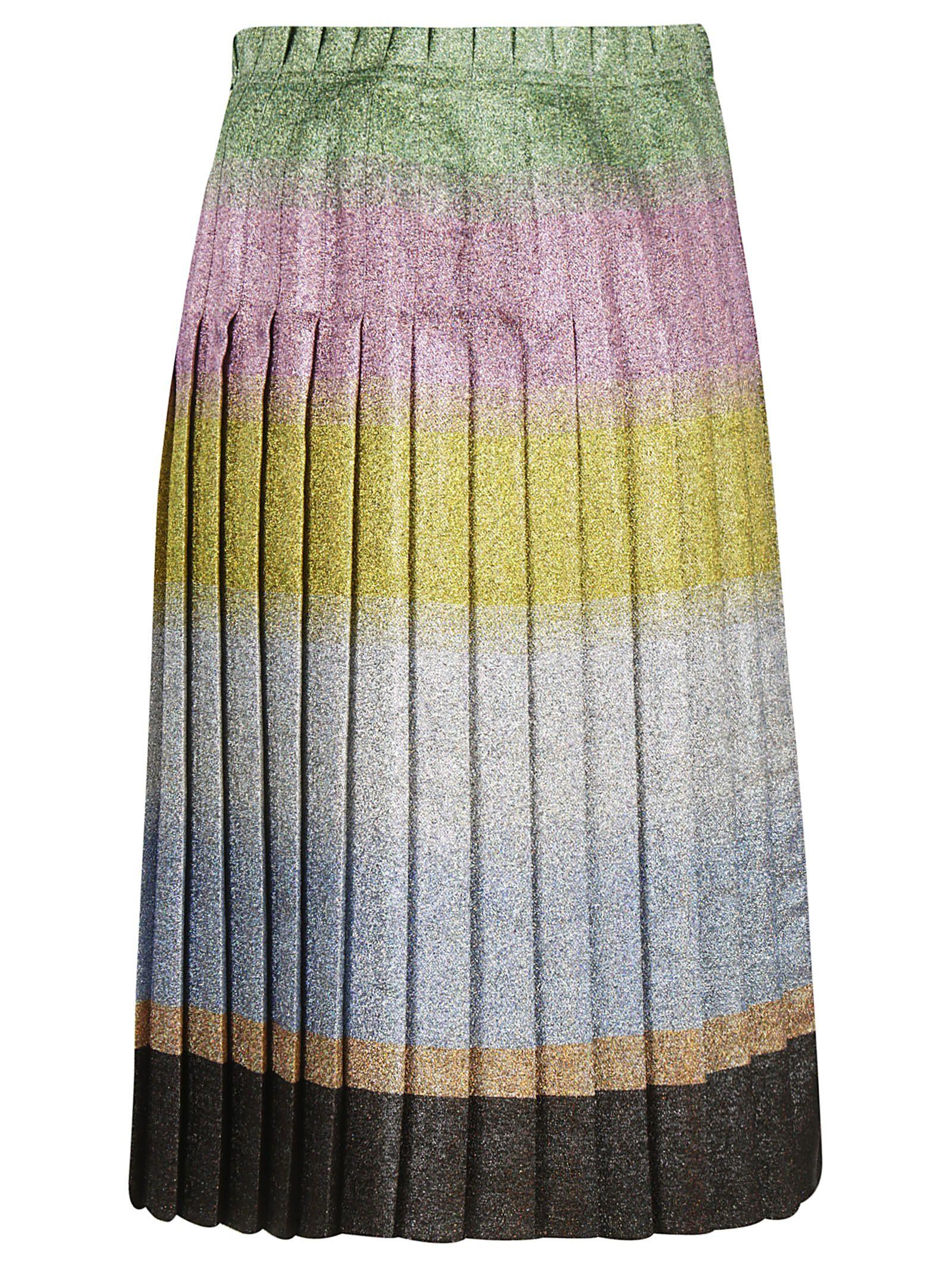 De Vincenzo Pleated Skirt