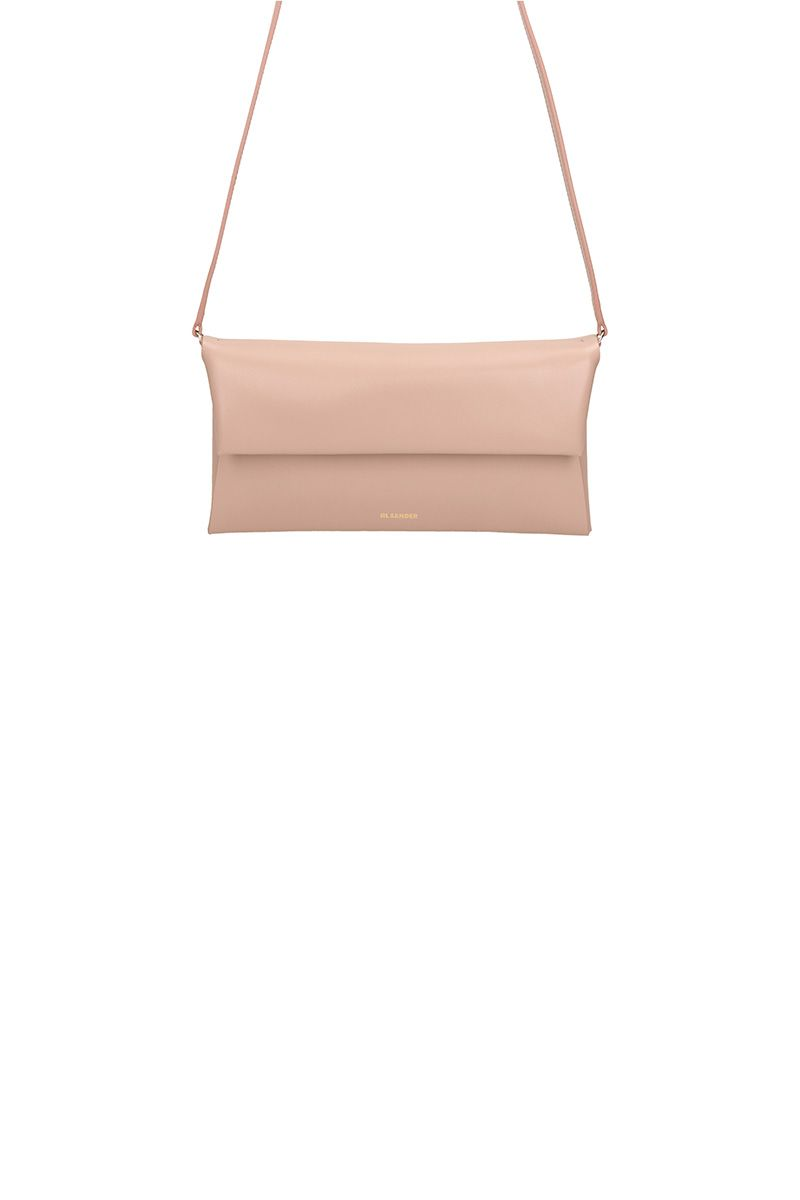 Jil Sander Pink Leather Bag