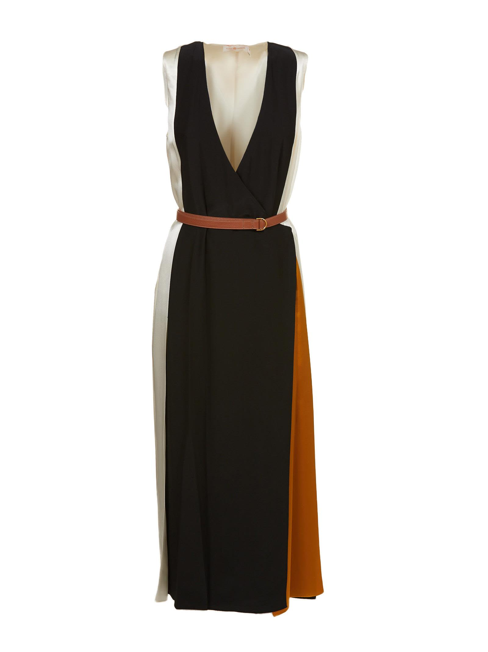 Clarice wrap dress - Black Tory Burch sSuyTzp2