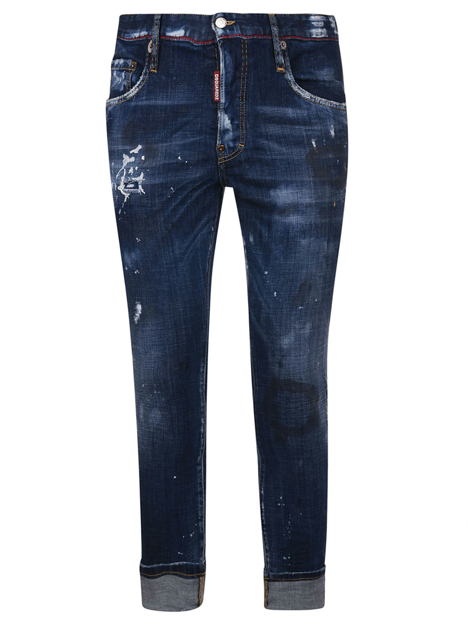 Dsquared2 Skater Distressed Jeans