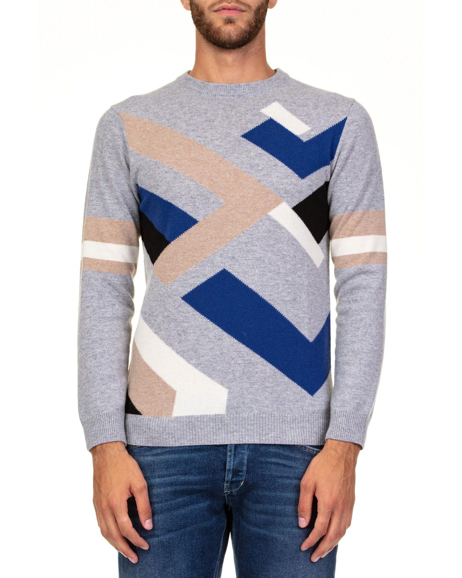DANIELE FIESOLI Extrafine Merino Wool T-Shirt in Grey