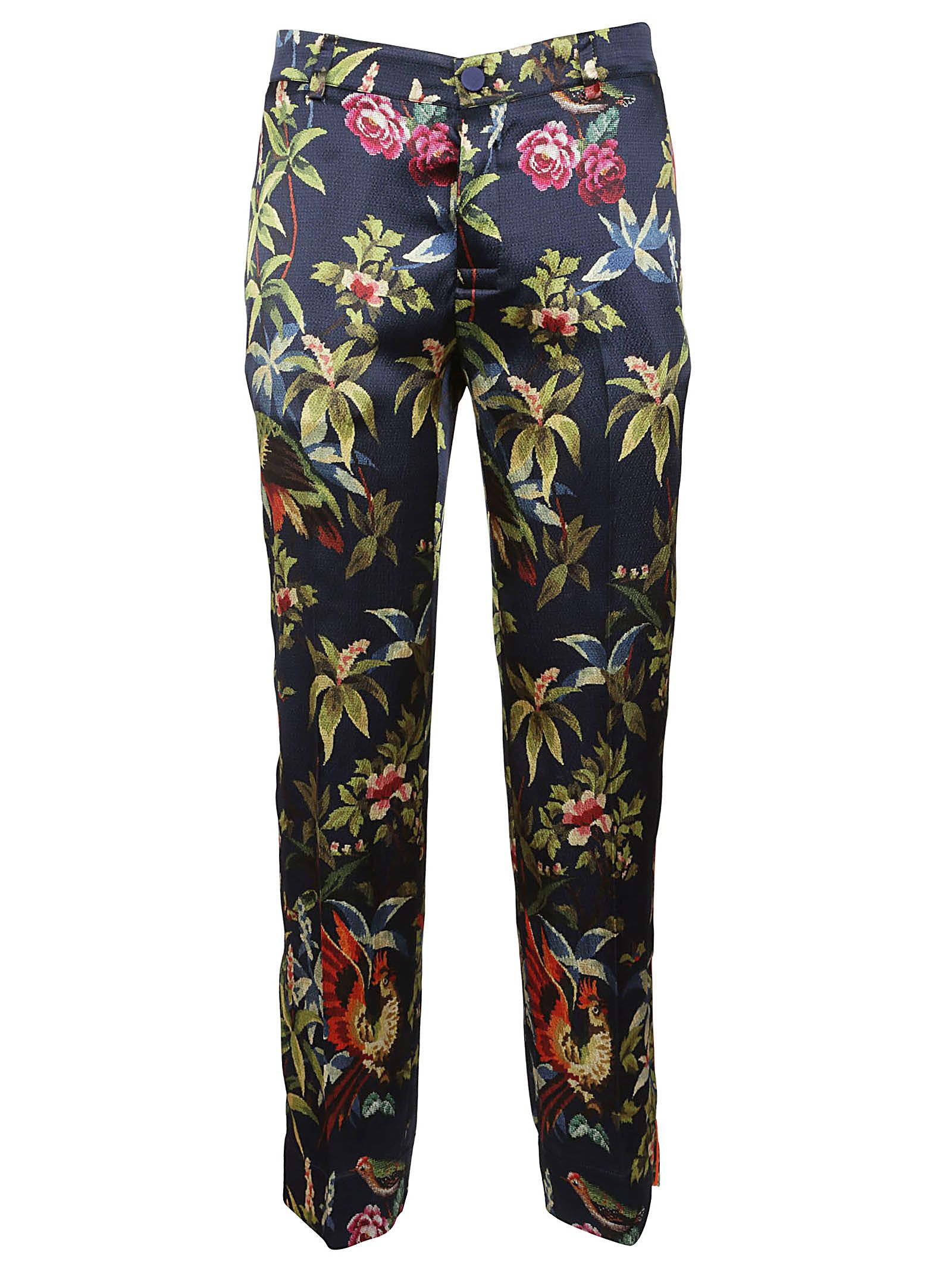 F.r.s For Restless Sleepers JUNGLE PRINT TROUSERS