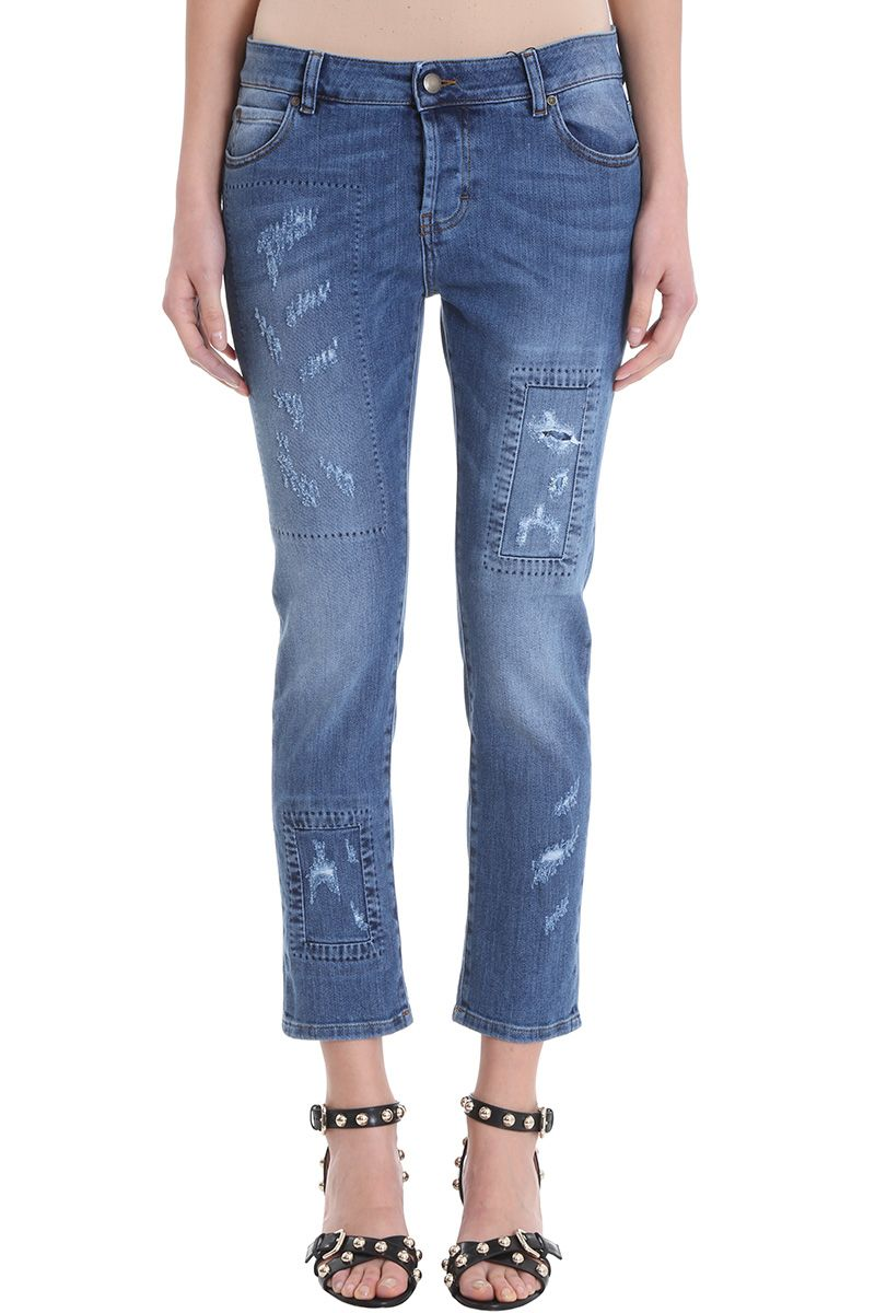 RED Valentino Distressed Skinny Jeans 10571891