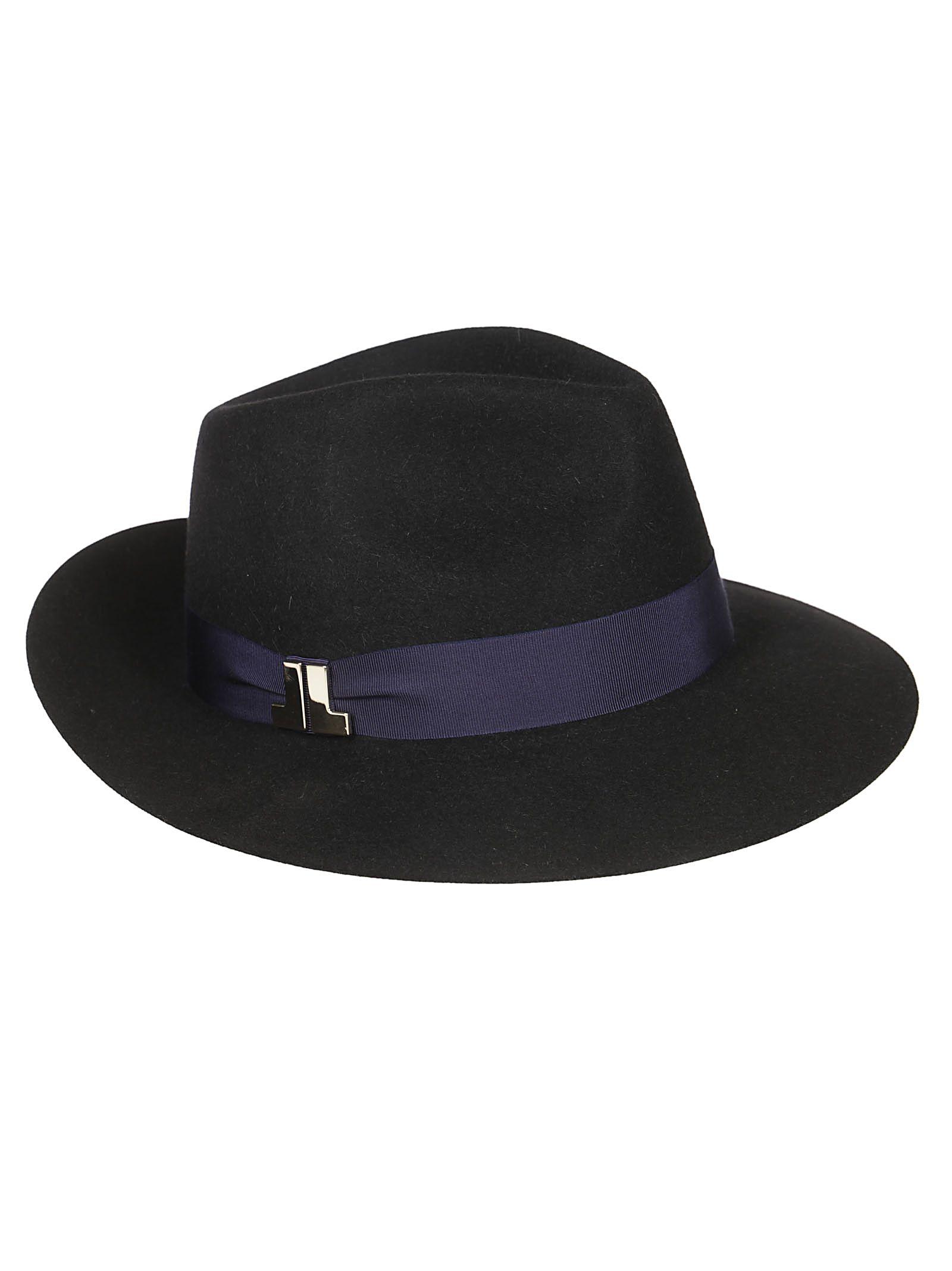 LANVIN RIBBON PANAMA HAT