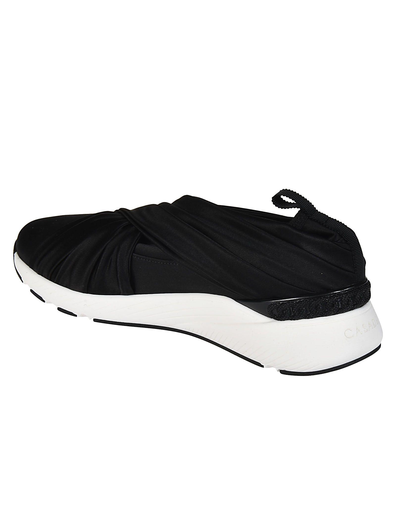 Casadei Chaussures De Sport De Bande De Recouvrement - Noir yoCBoIB7W