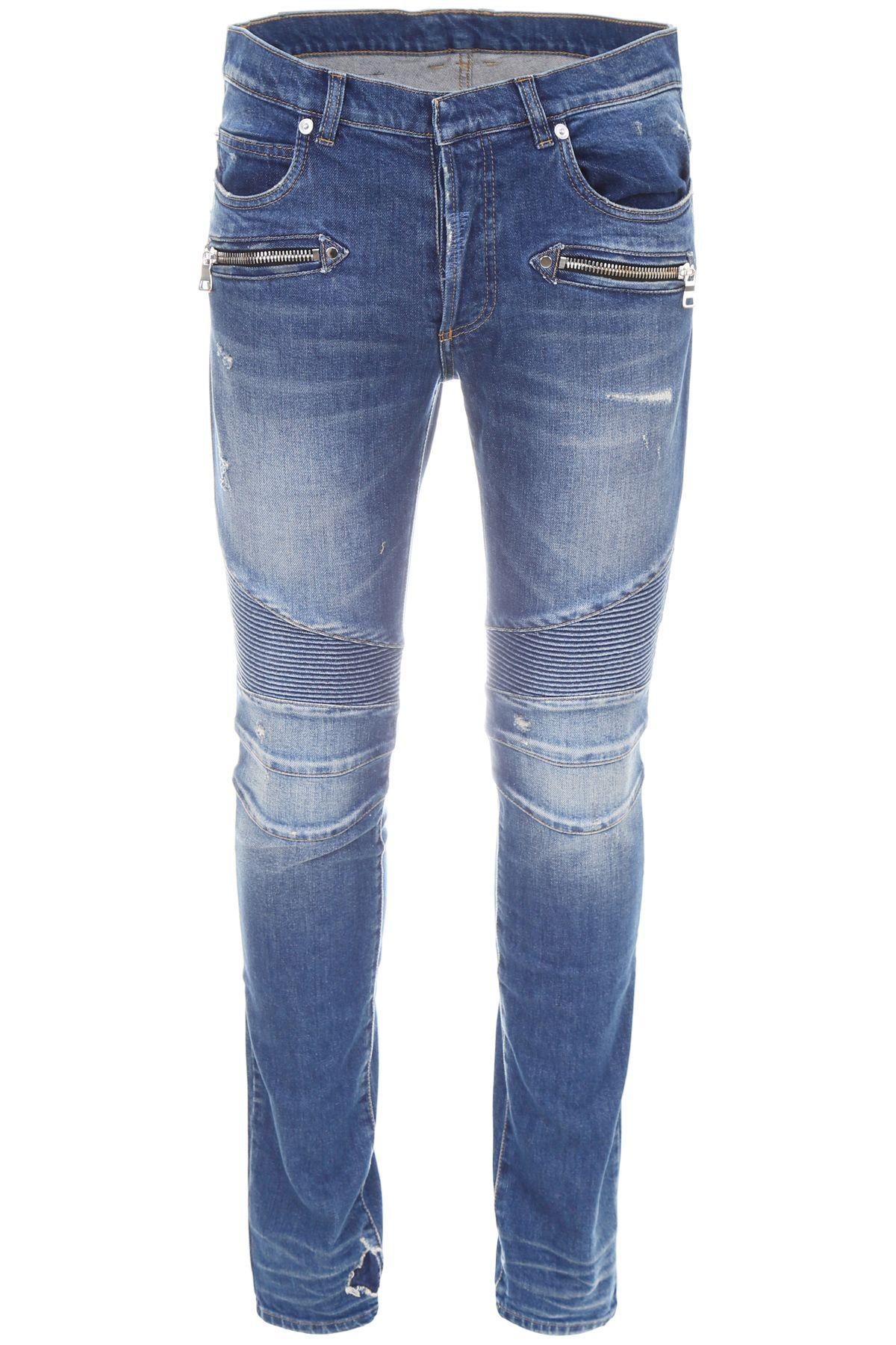 Stretch Biker Jeans 10536432