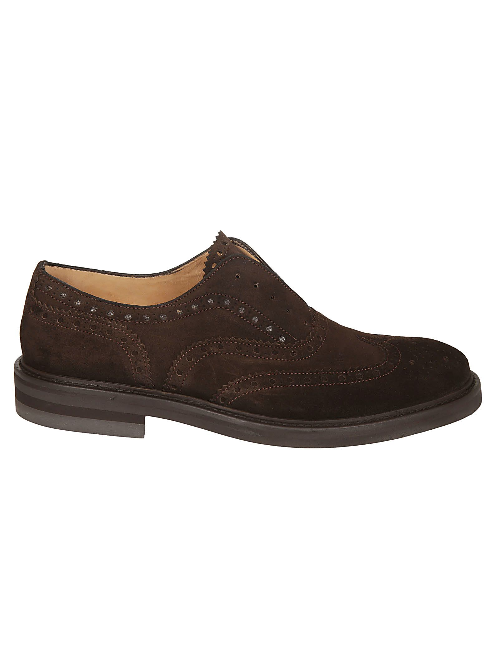 SEBOY'S Perforated Oxford Shoes in Moro