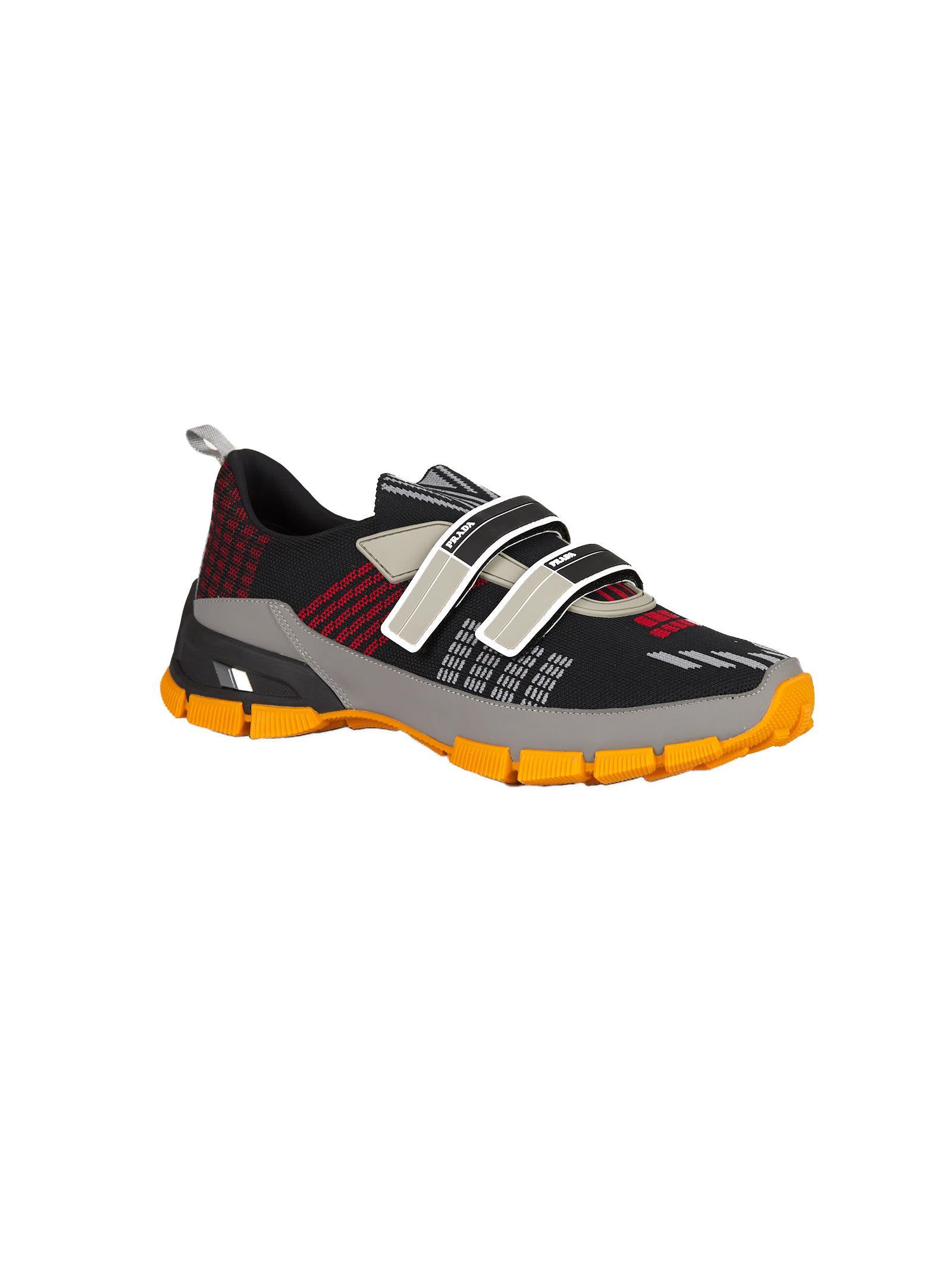 Prada touch-strap colour-block sneakers - Nero Aclaramiento Comercializable Encontrará Una Gran Línea eUfztHUVjF