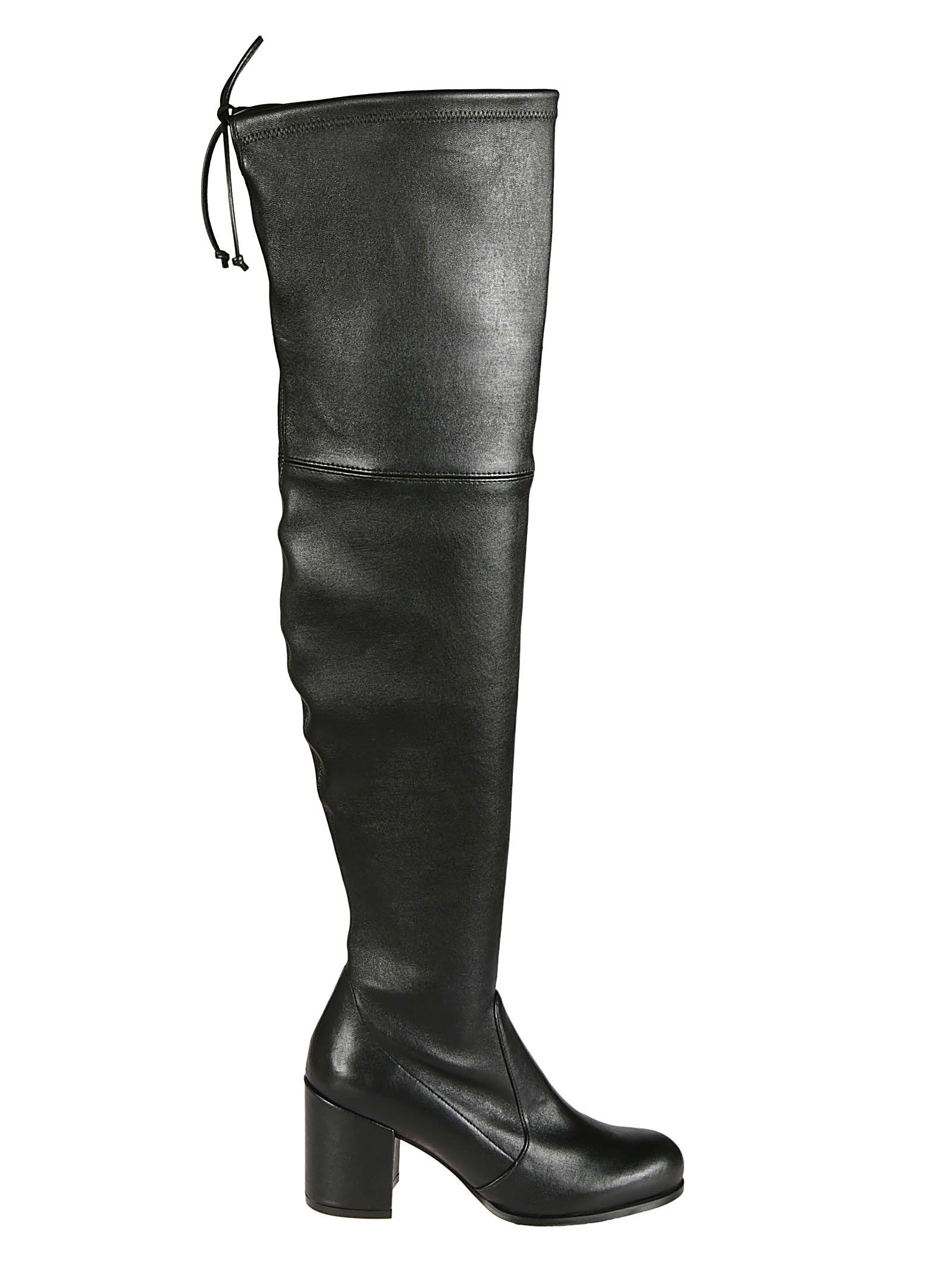 Tieland Over-The-Knee Boots, Black