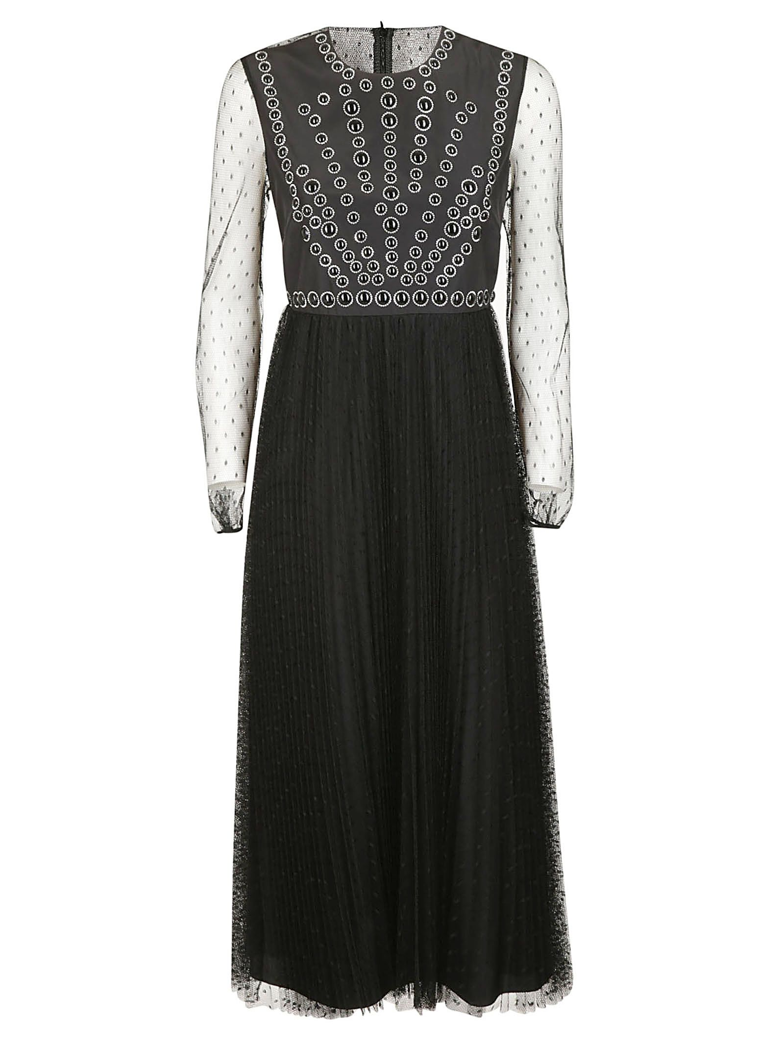 Red Valentino Dresses RED VALENTINO PLEATED DRESS