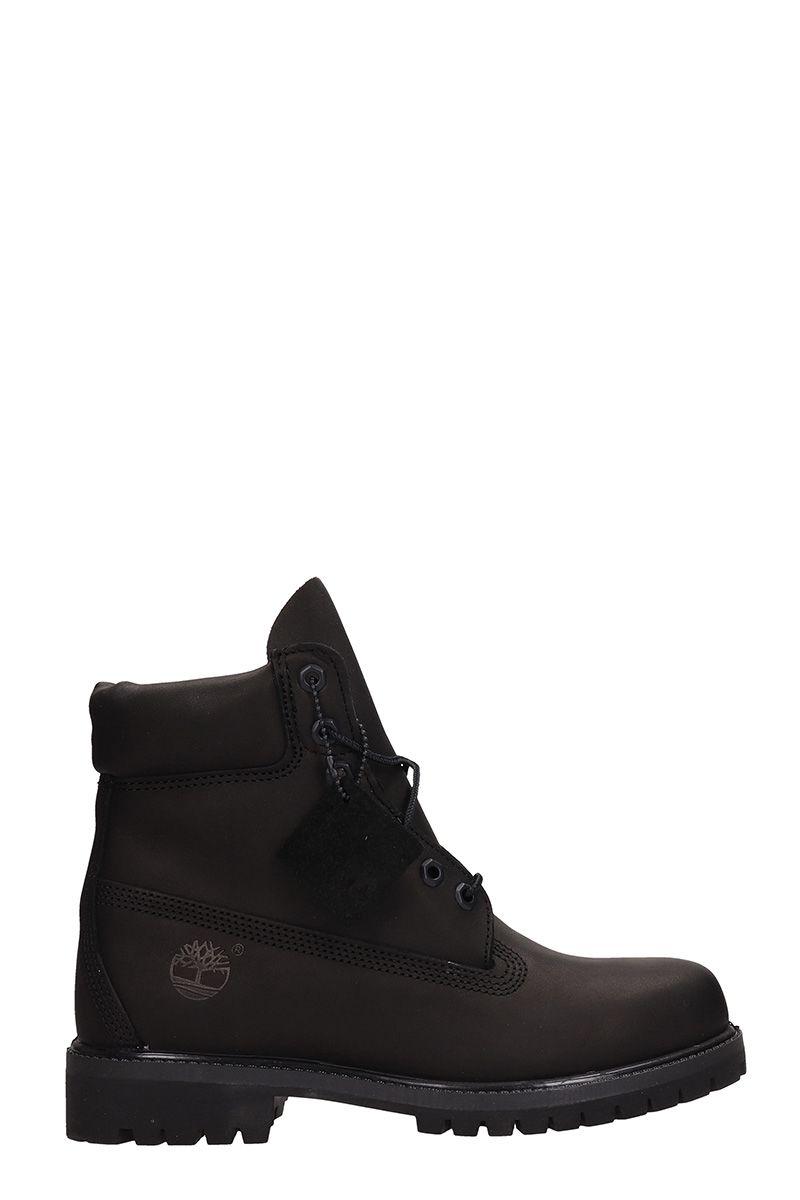 timberland -  Classic Premium Wheat Nubuck Leather Boots