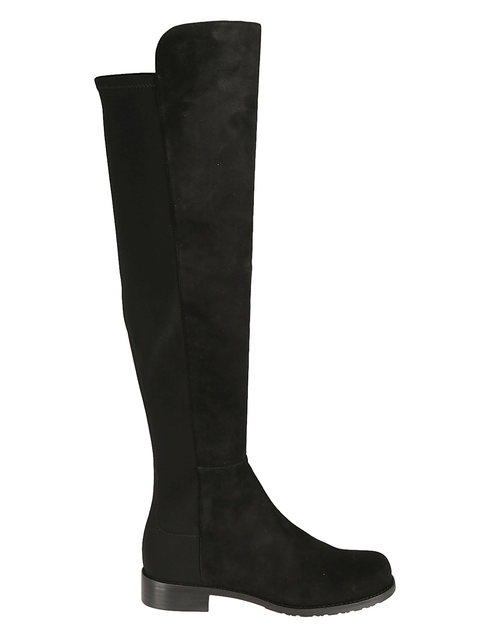5050 Over-The-Knee Boots, Black