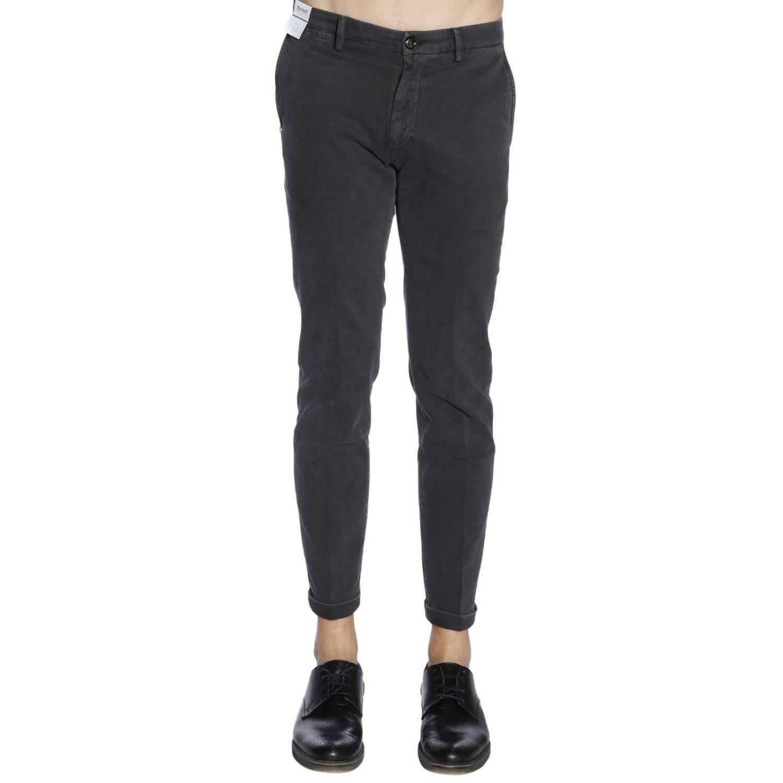 RE-HASH Re-Hash Pants Pants Men Re-Hash in Charcoal