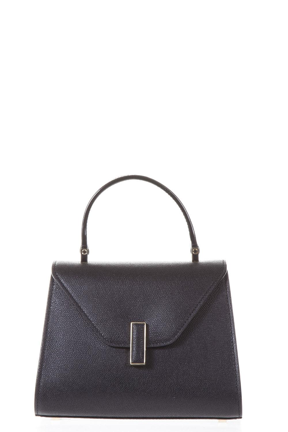 ISIDE BLACK LEATHER HAND BAG