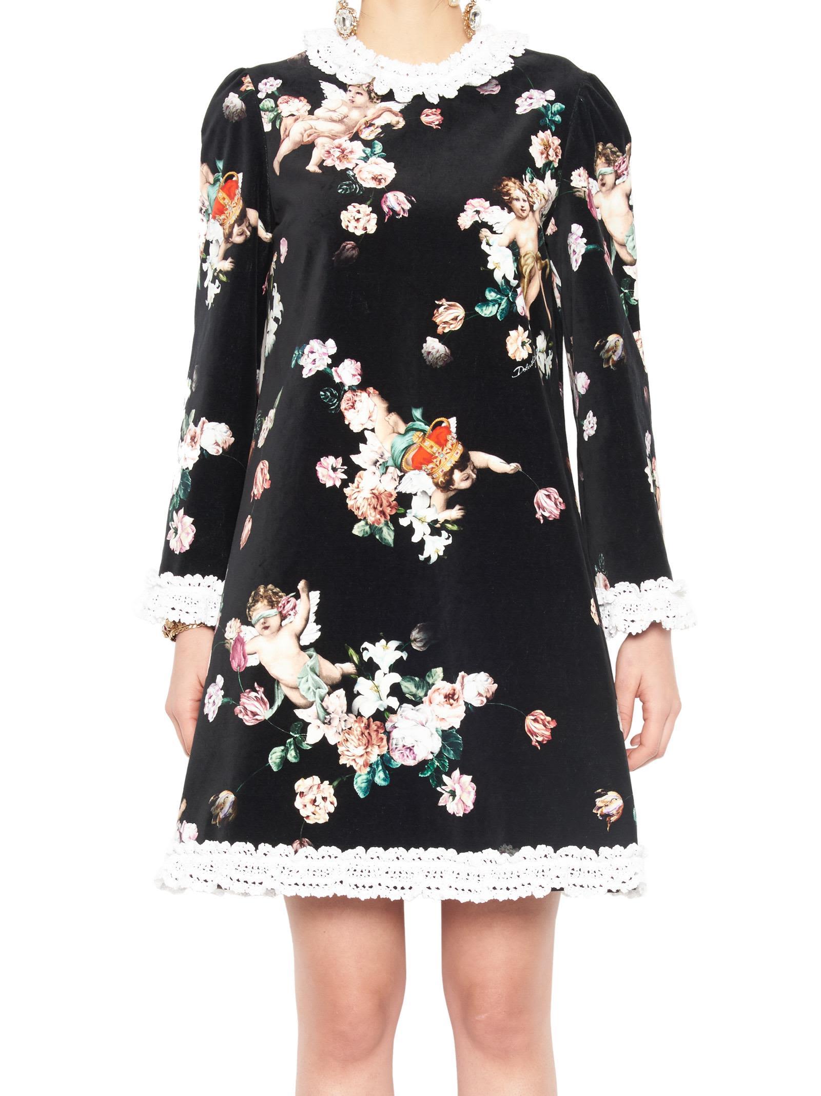 Dolce & Gabbana 'angeli' Dress 10690073