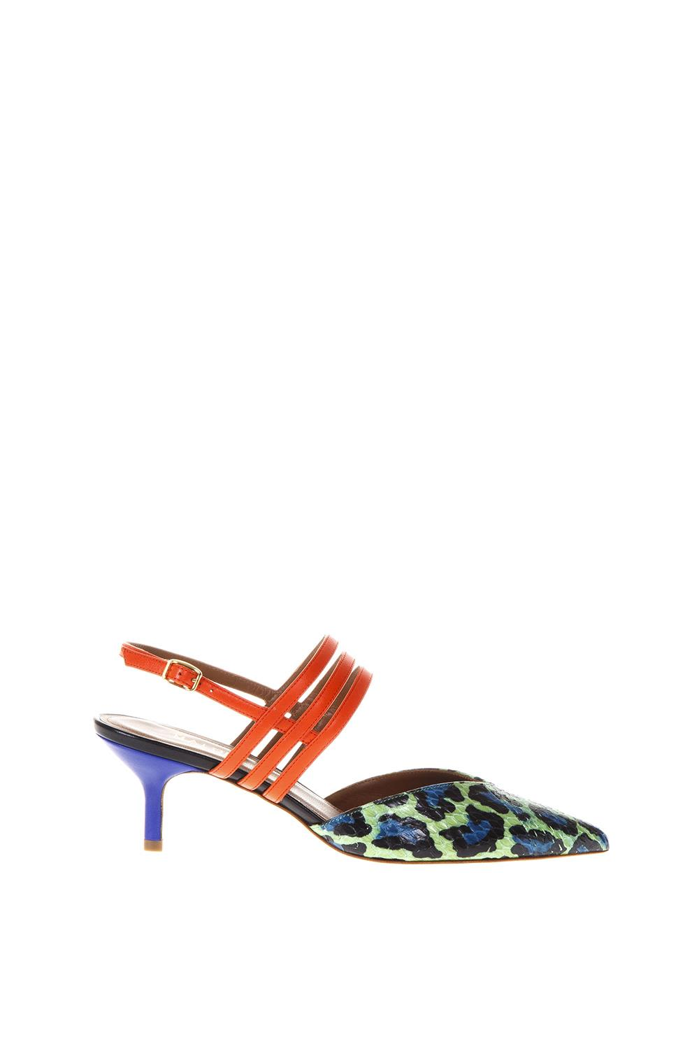 Malone Souliers Liza 1 Multicolor Sandals In Leather