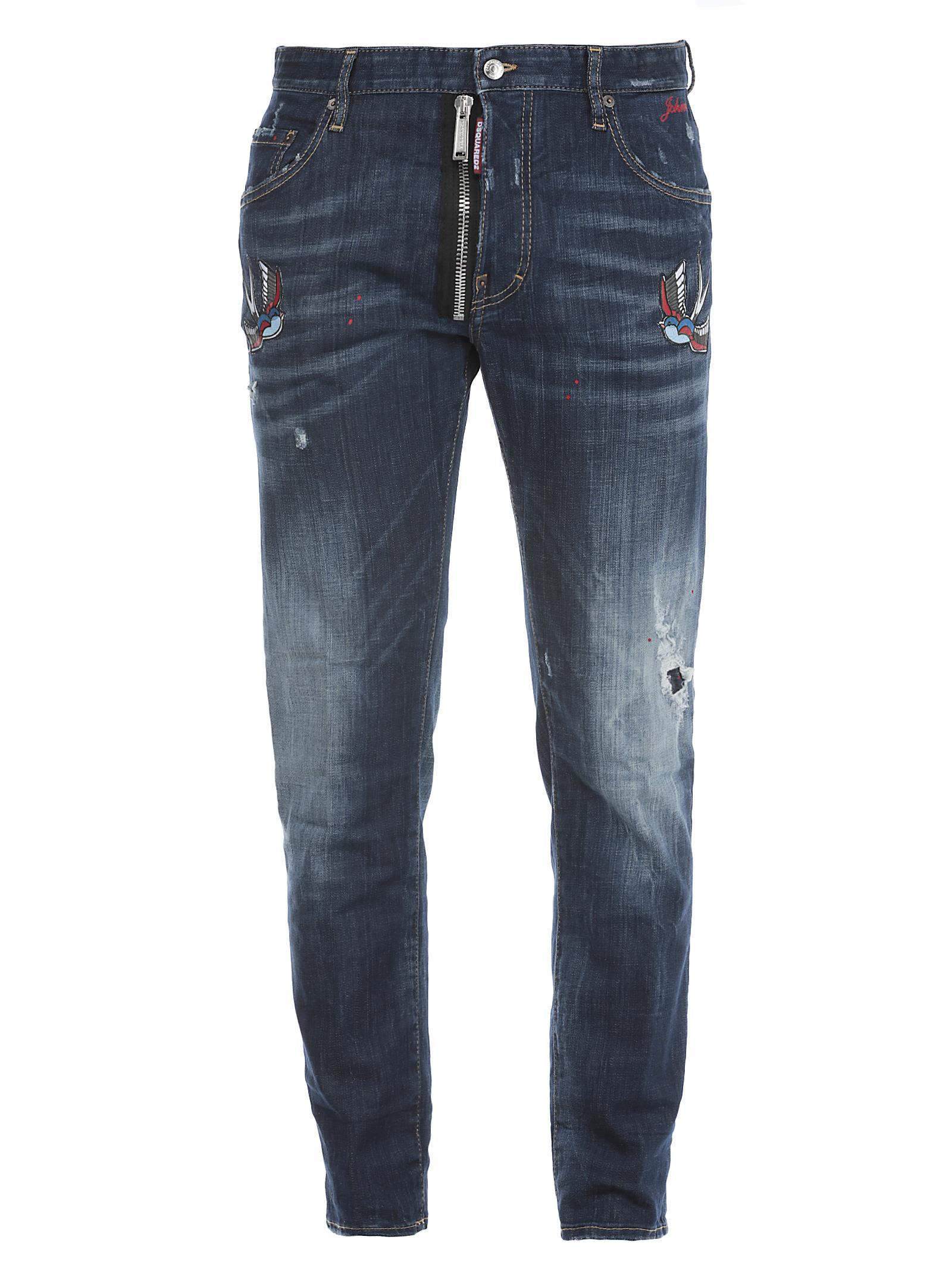 Dsquared2 Jeans In Cotone 10509728