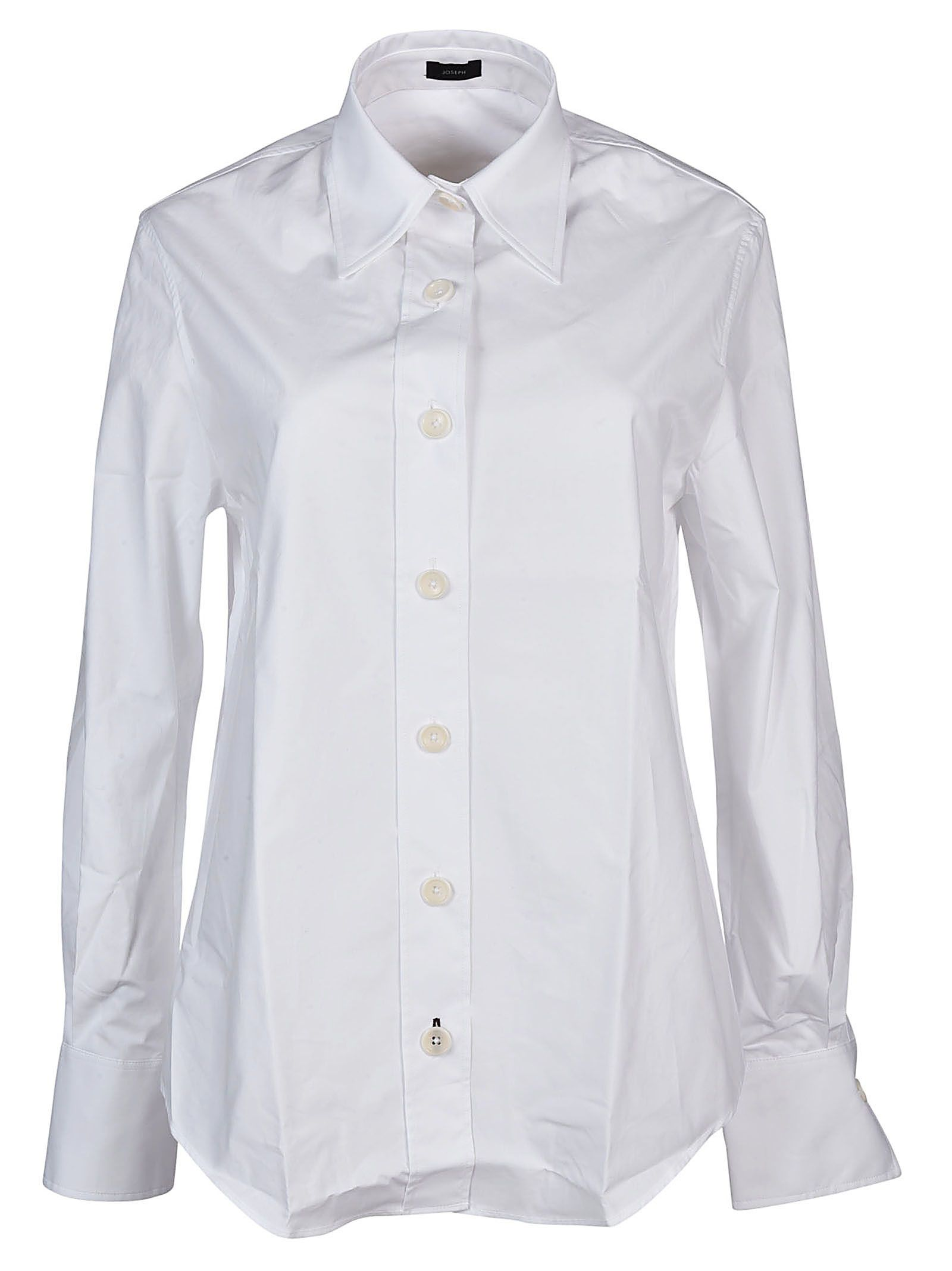 Cheap Sale Amazon Discount Codes Really Cheap White Garconne Poplin Shirt Joseph Cheap The Cheapest Outlet Best Wholesale tJxmD