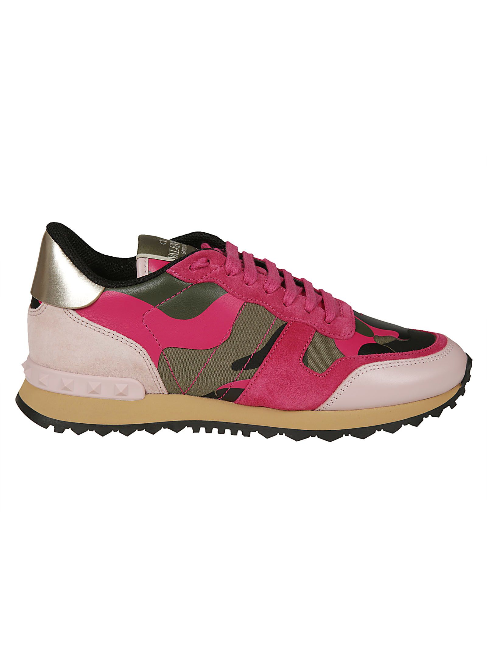 Rockrunner Camouflage Sneakers in Rosa