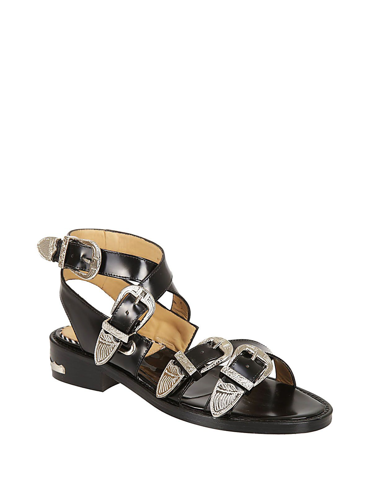 Toga Pulla buckle strapped shoes 100% original online GyGPal7V