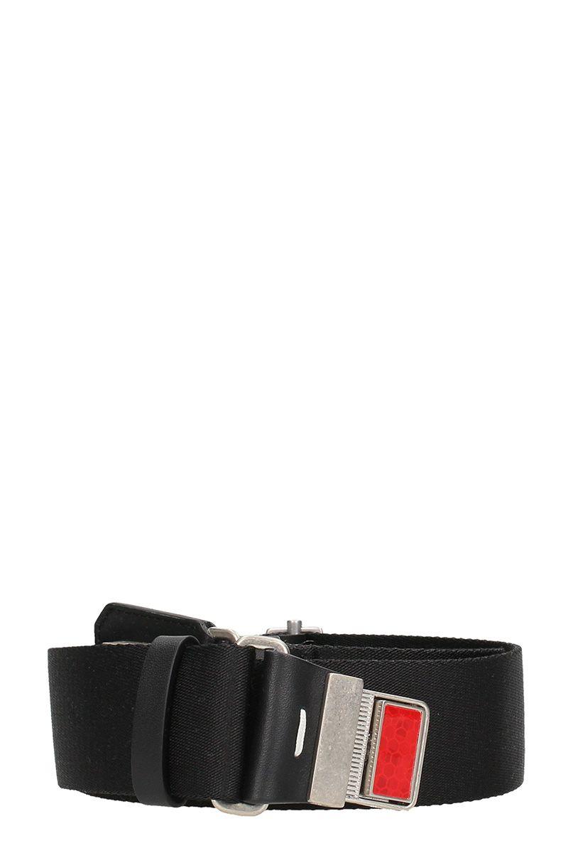 Maison Margiela Reflector Black Cotton Belt