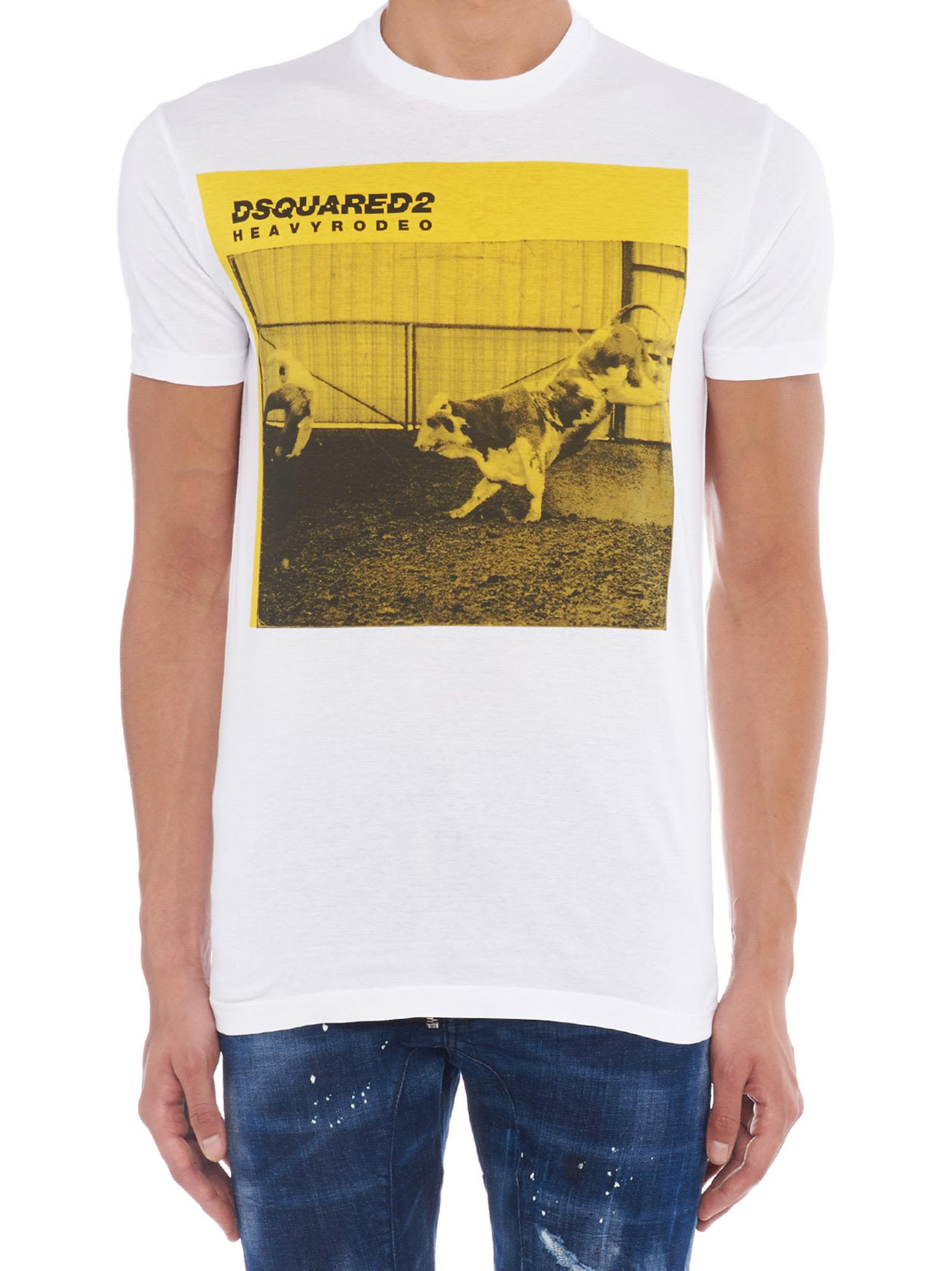 Dsquared2 Cottons Dsquared2 'rodeo' T-shirt