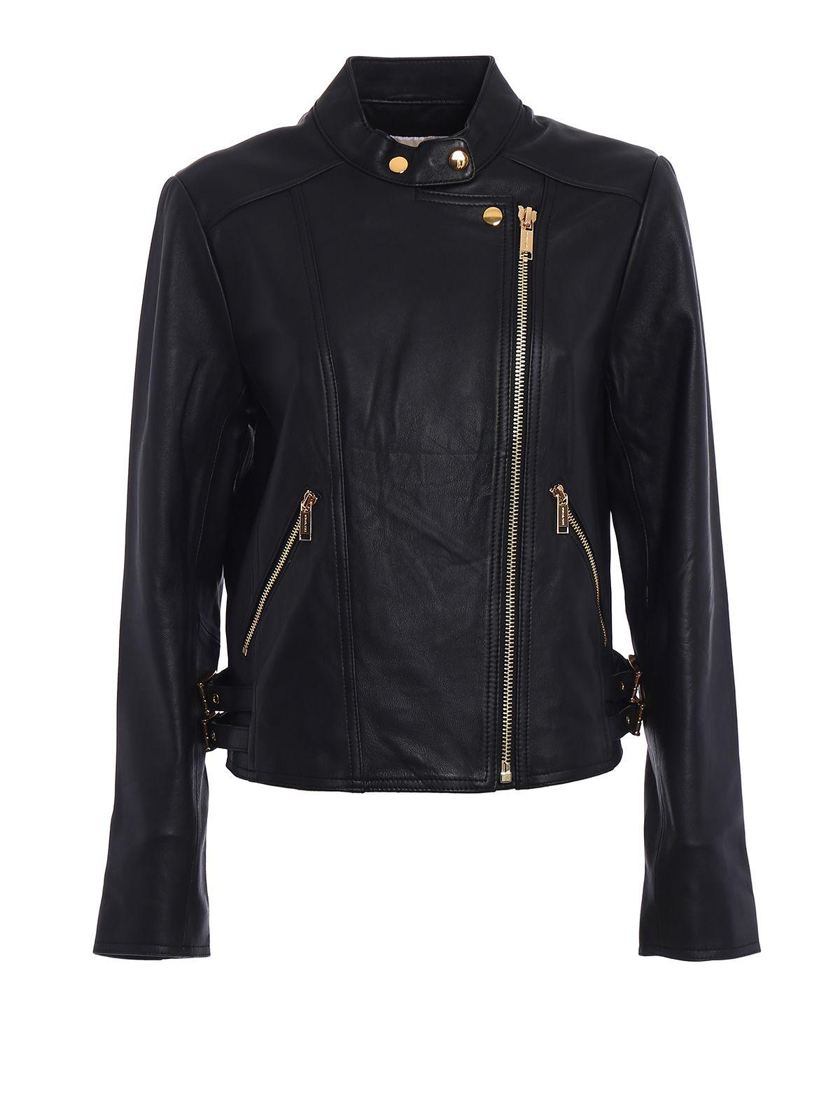Napa Leather Biker Jacket 9276045