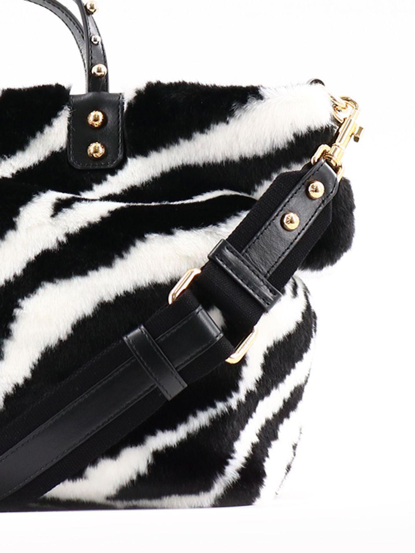 bd8959051df8 ... Dolce   Gabbana Zebra Print Shopping Bag - Multicolor ...