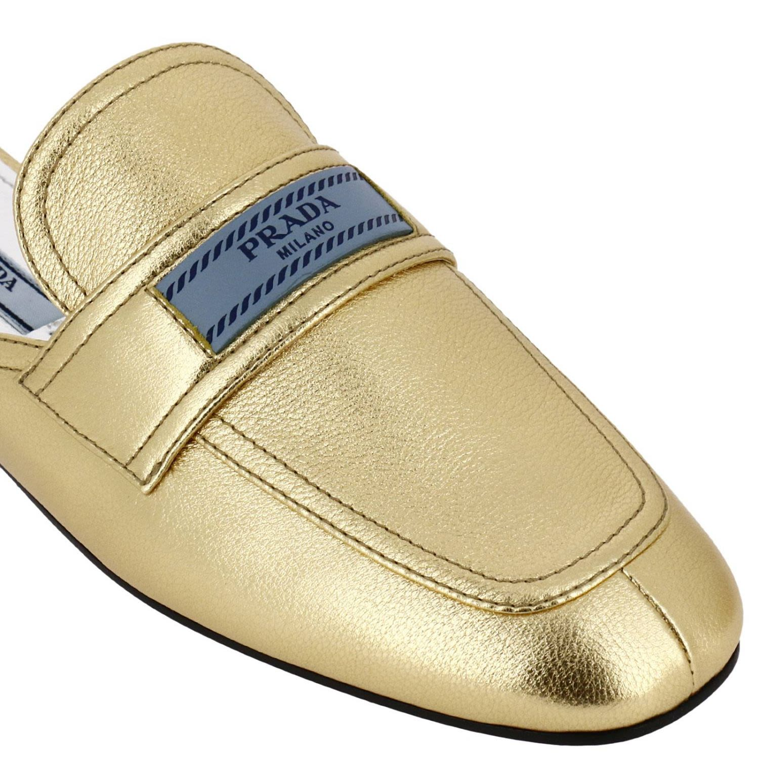 ... Prada Ballet Flats Shoes Women Prada - gold ... b3d7899bde