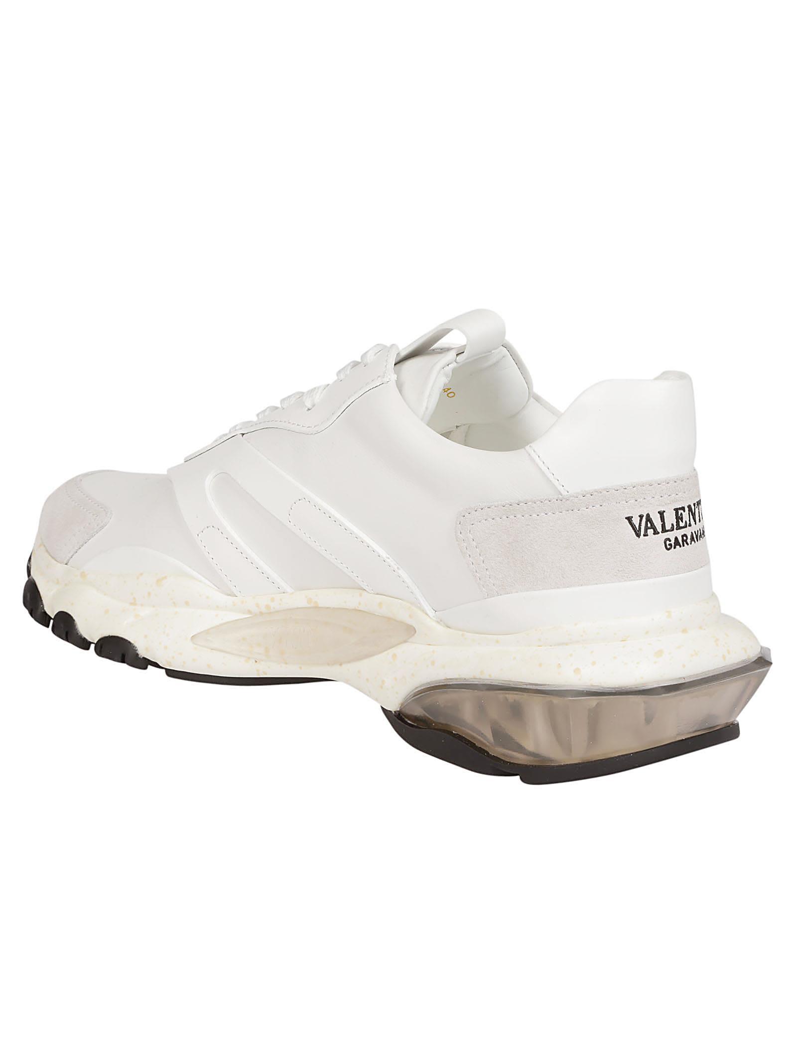 italist | Best price in the market for Valentino Valentino Garavani Bounce Sneakers - White ...