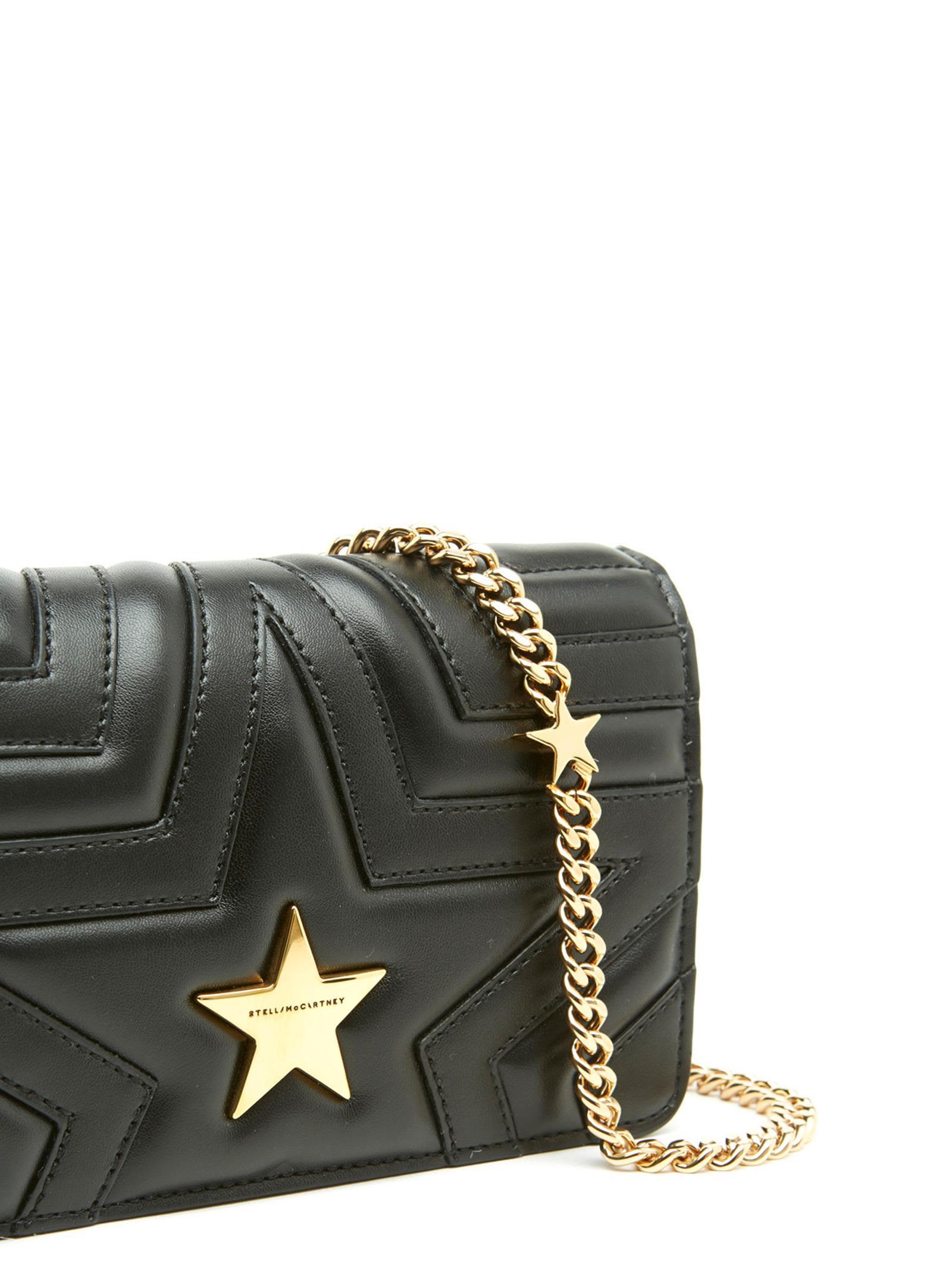 ... Black Stella McCartney  stella Star  Bag ... ef8fc27b2ad02