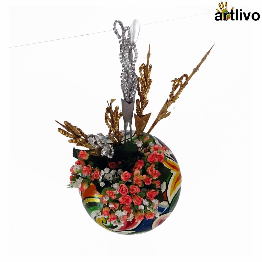POPART Deco Iron Vase