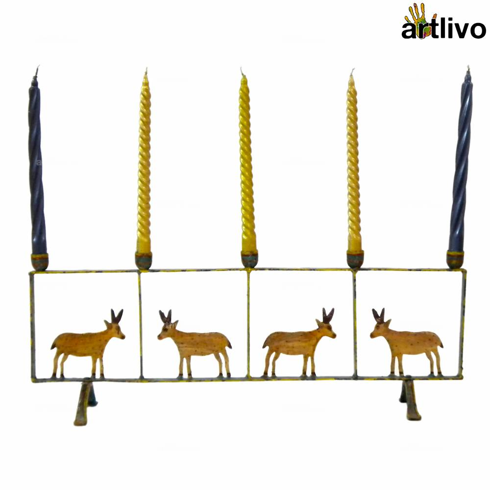 Deer Kingdom Taper Candle Stand