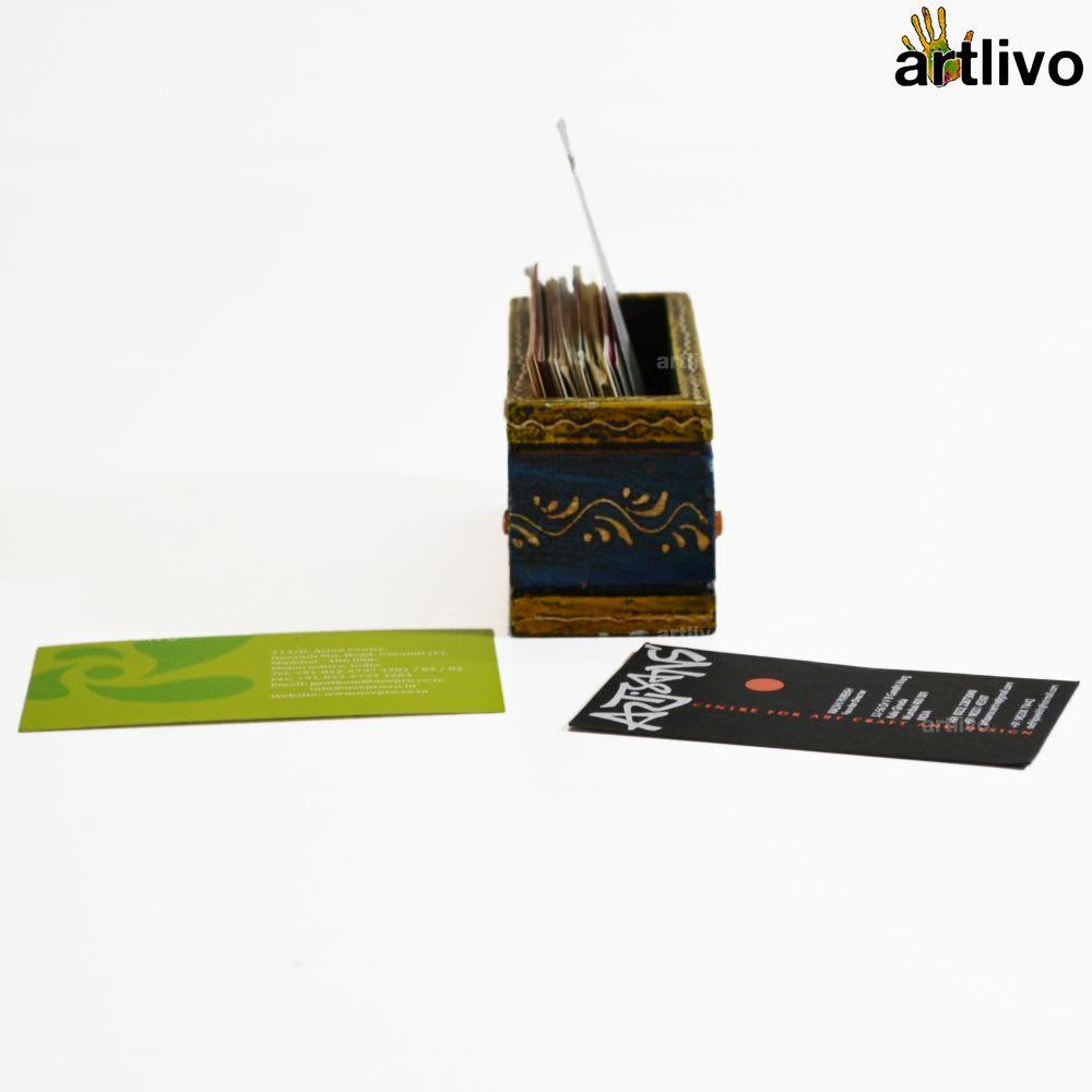 EMBOSSED Sapphire Card Holder